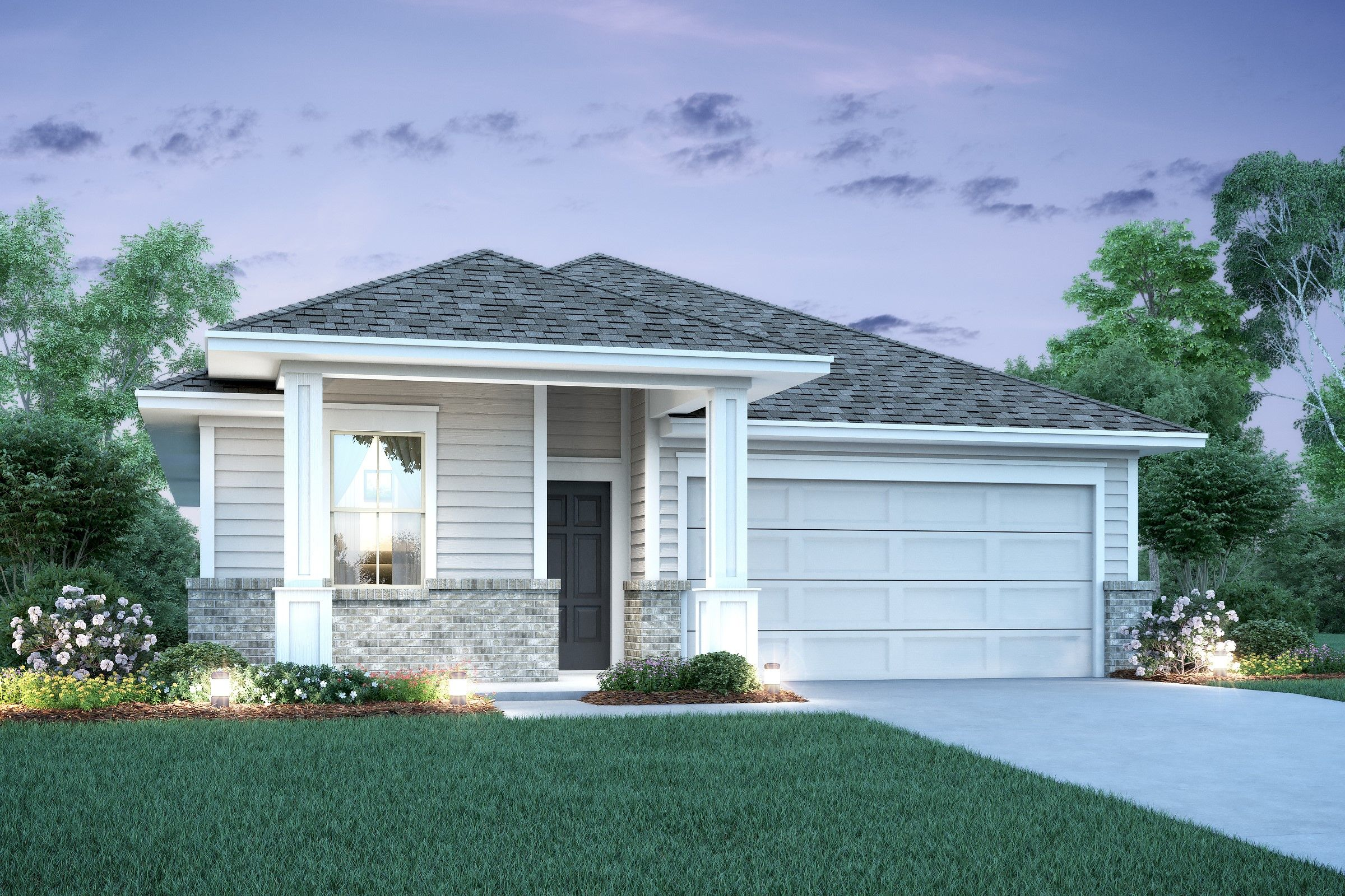 Exterior featured in the Quartz By K. Hovnanian® Homes in Houston, TX