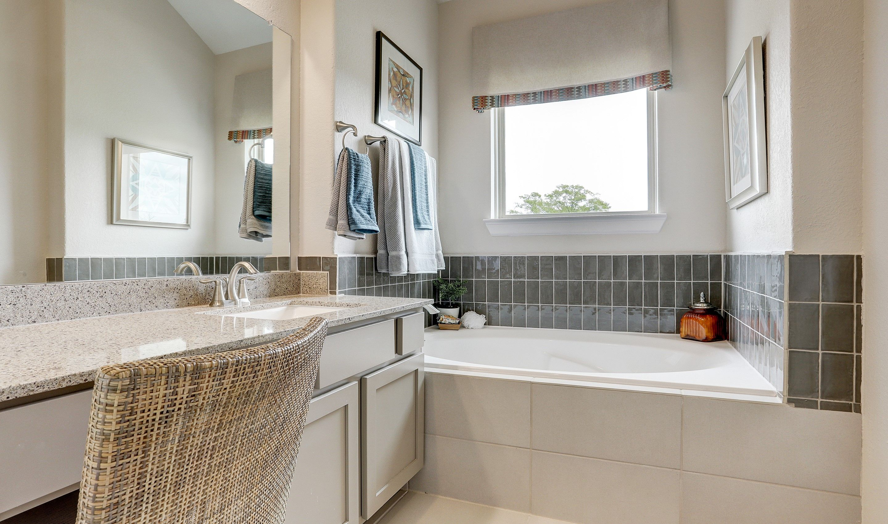 Bathroom featured in the Radcliffe II By K. Hovnanian® Homes in Houston, TX