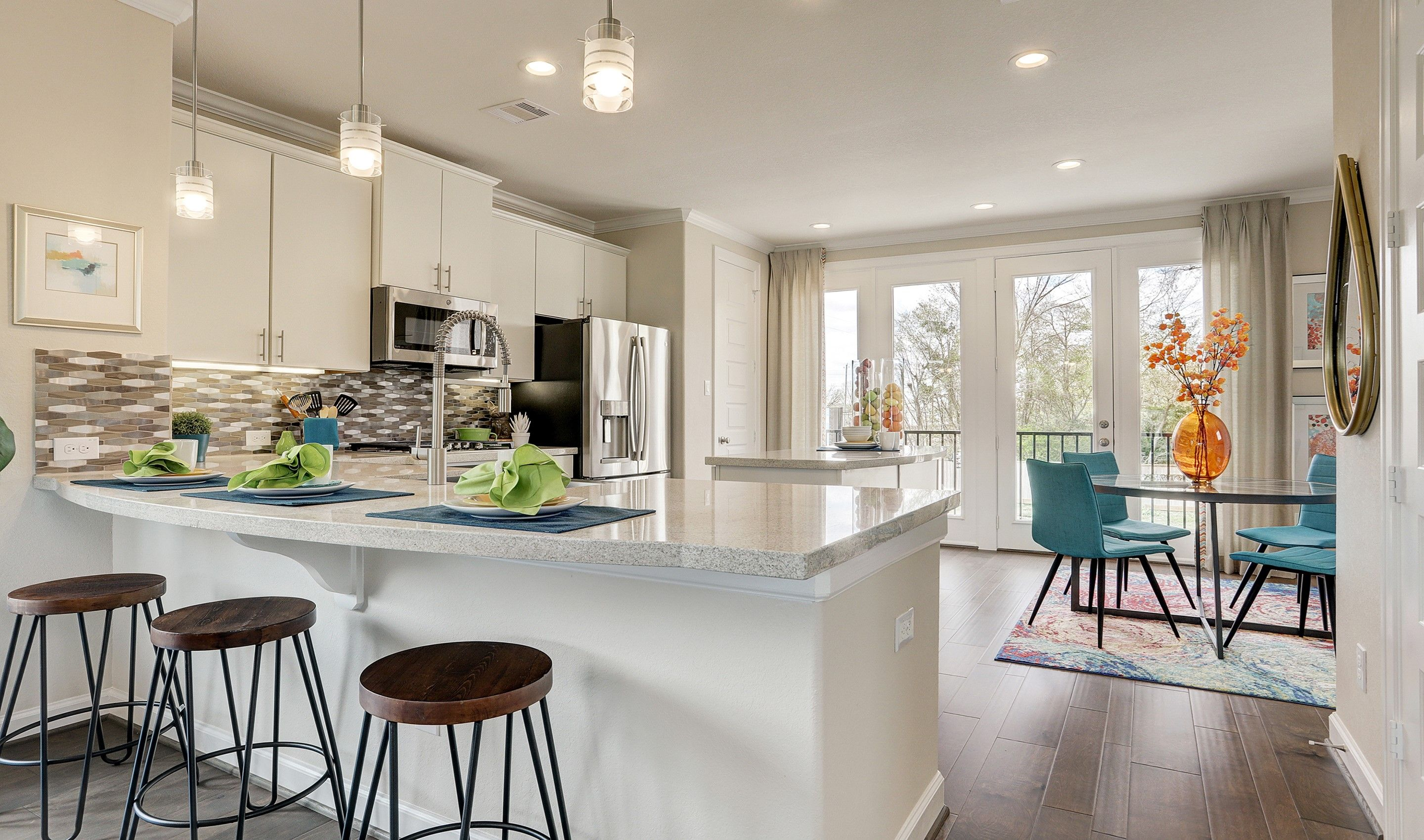 Kitchen featured in the Radcliffe II By K. Hovnanian® Homes in Houston, TX