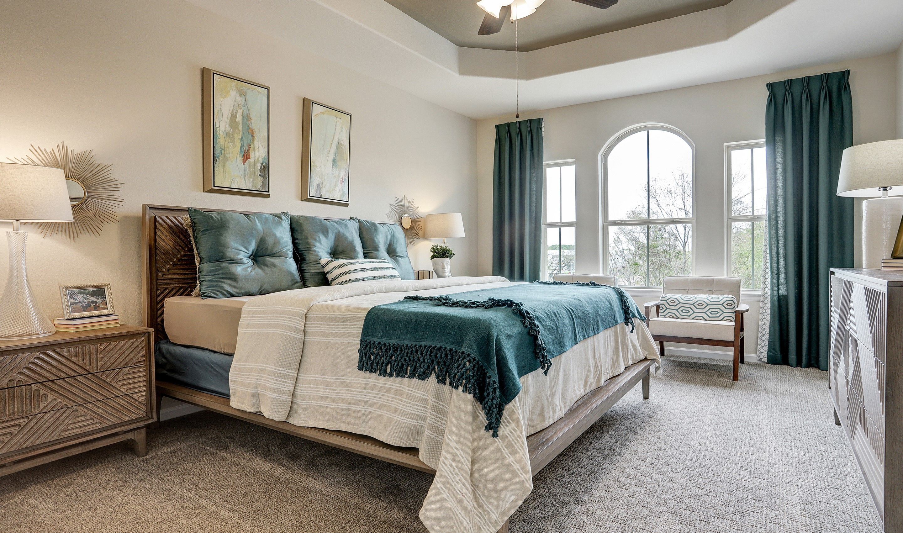 Bedroom featured in the Radcliffe II By K. Hovnanian® Homes in Houston, TX