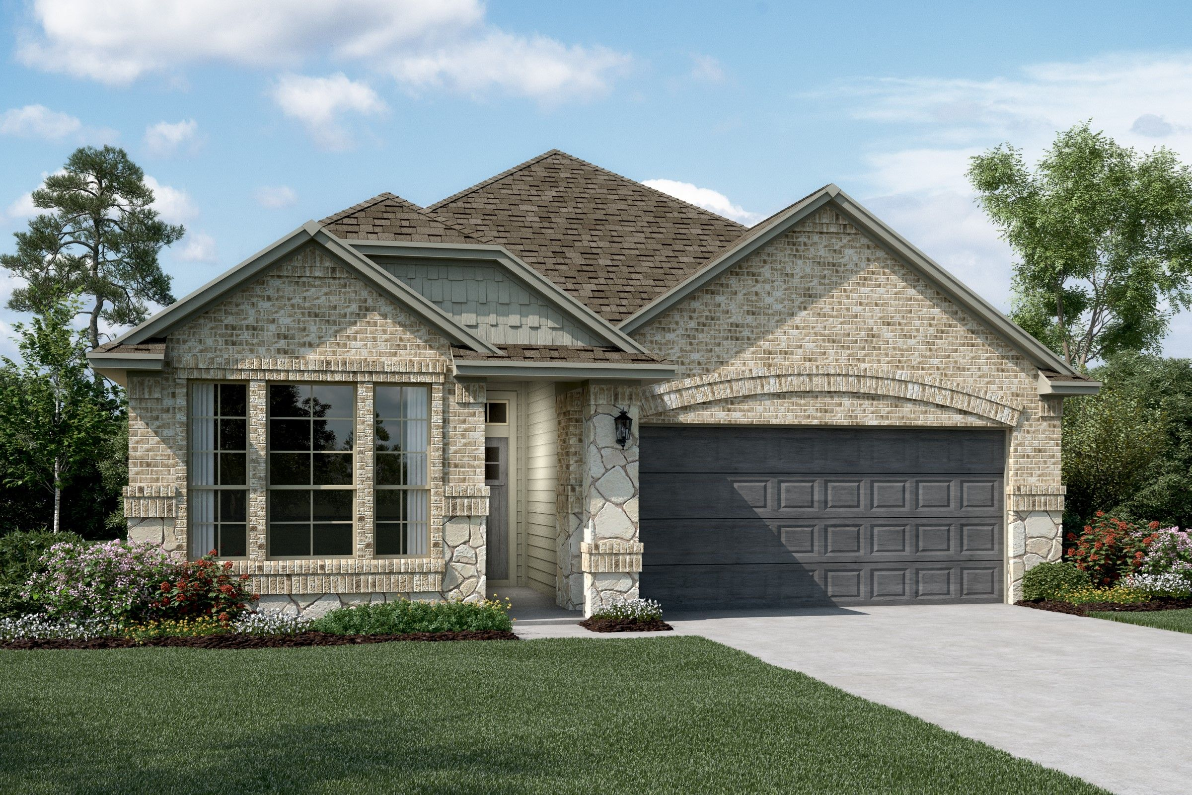 Exterior featured in the Easton By K. Hovnanian® Homes in Sherman-Denison, TX