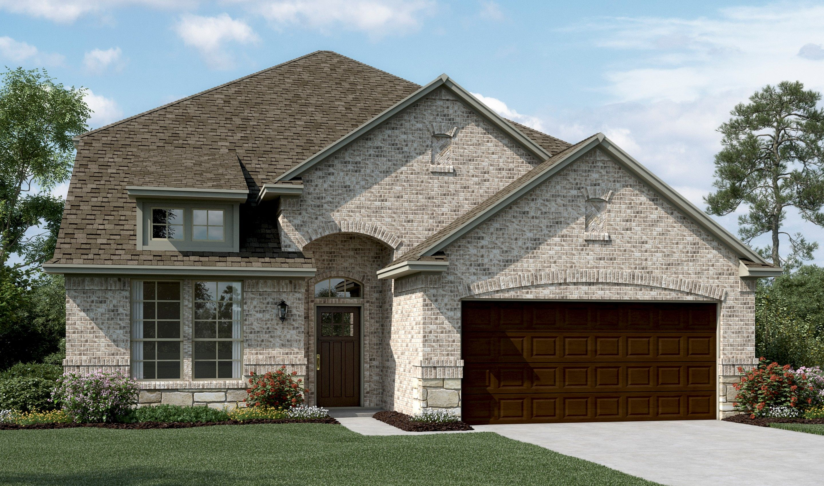 Exterior featured in the Coronado IV By K. Hovnanian® Homes in Dallas, TX