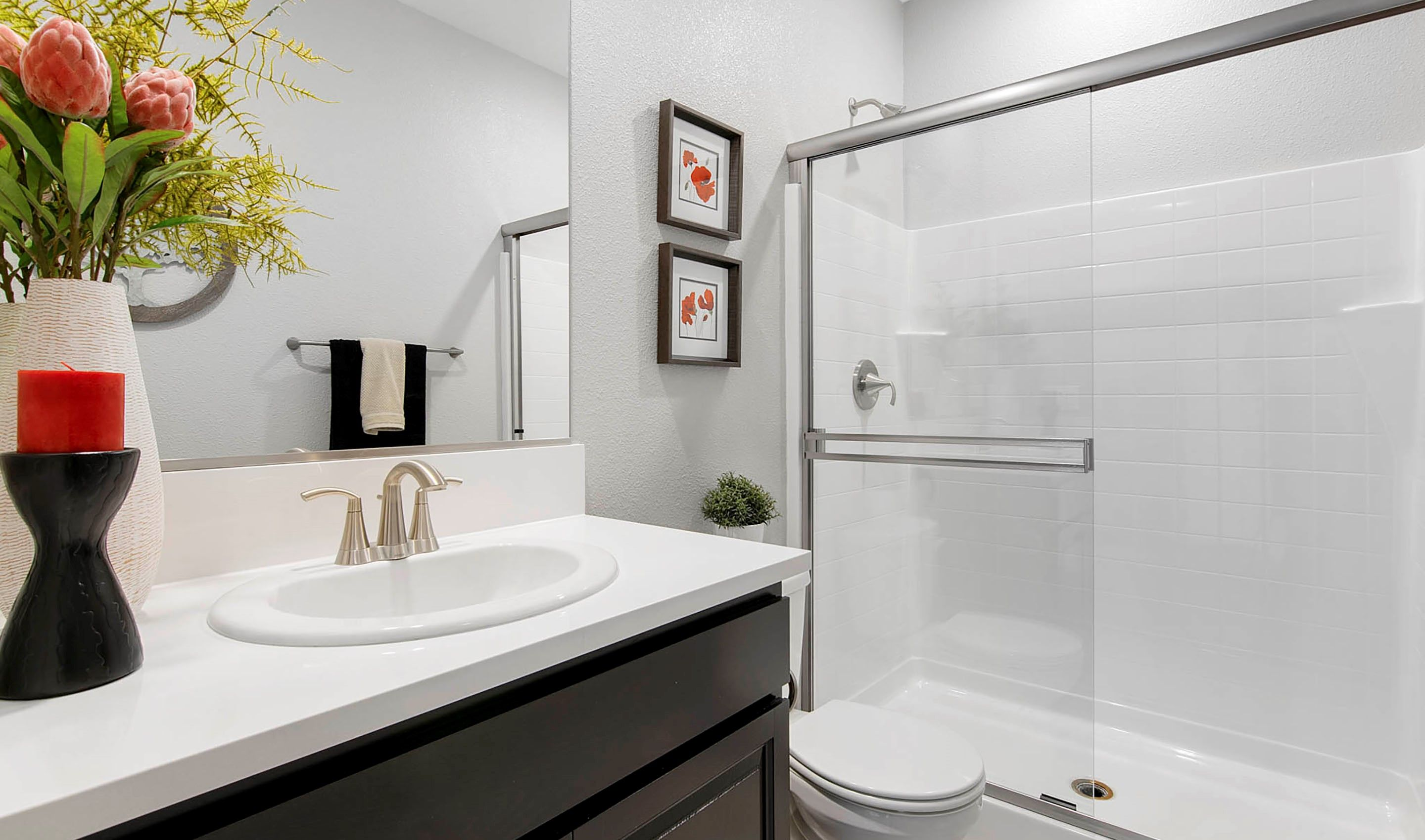 Bathroom featured in the Sage By K. Hovnanian® Homes in Sacramento, CA