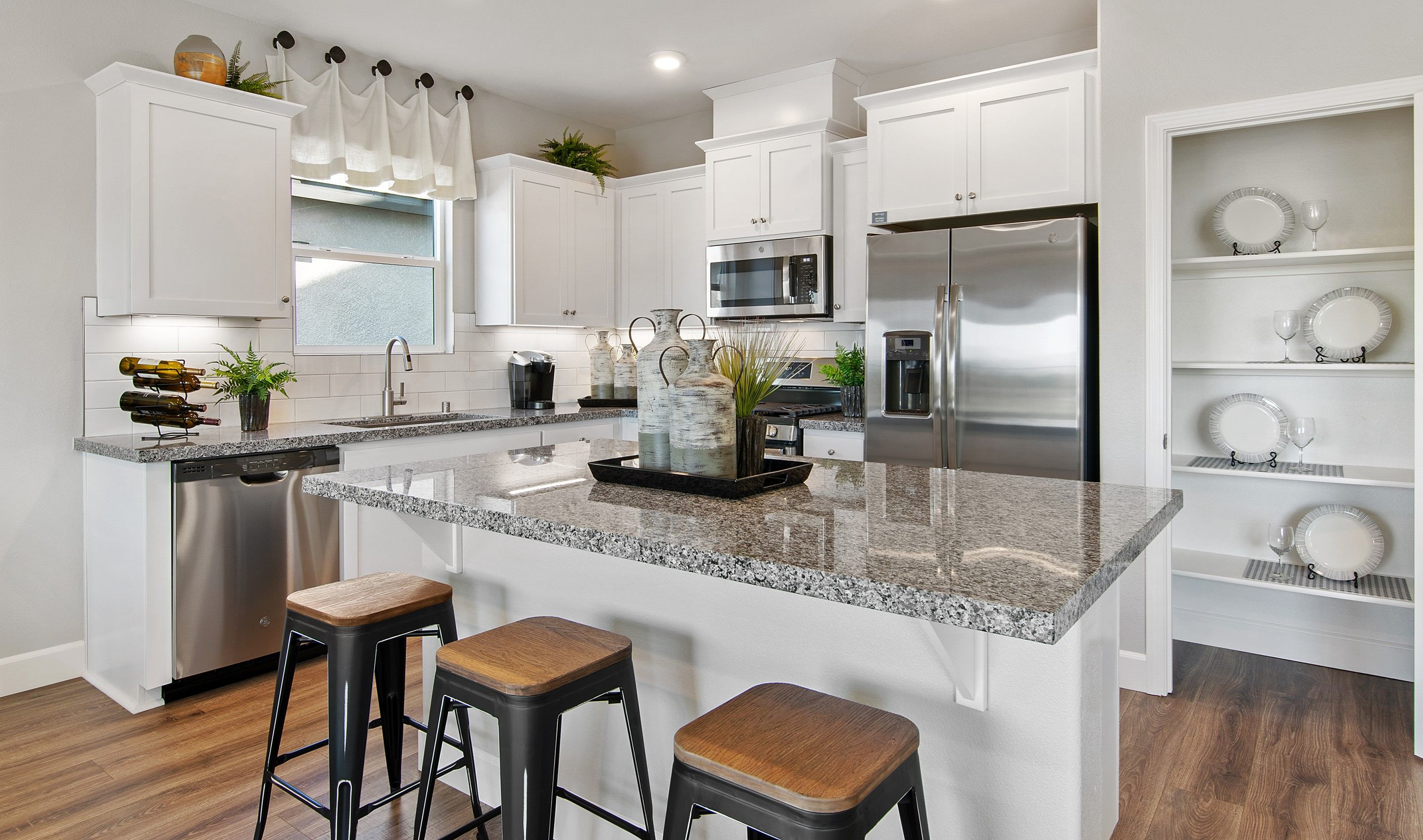Kitchen featured in the Sunflower By K. Hovnanian® Homes in Modesto, CA