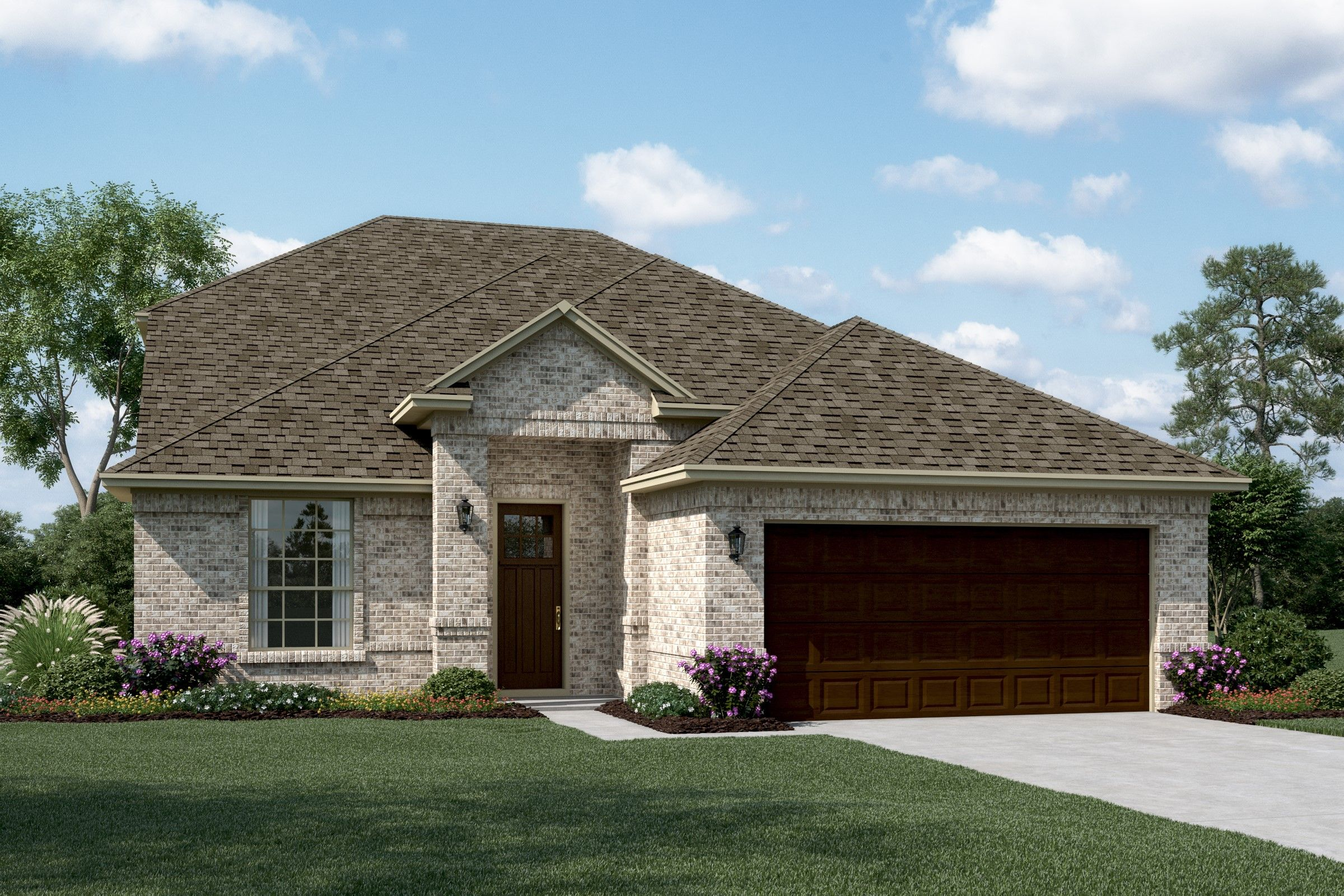 Exterior featured in the Delaware II By K. Hovnanian® Homes in Fort Worth, TX