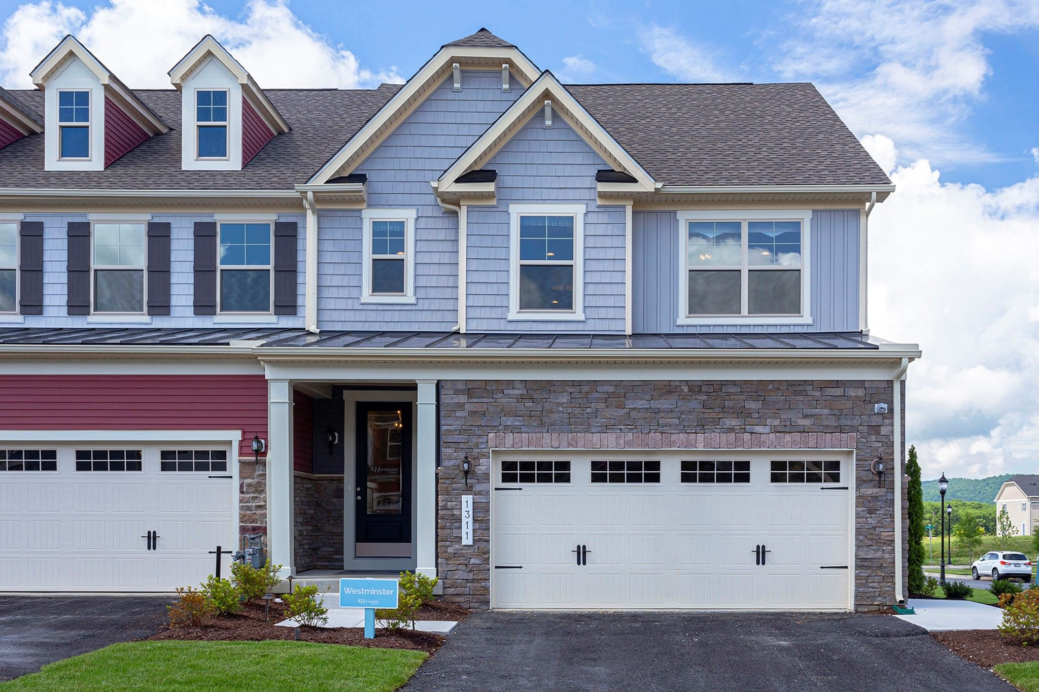 Exterior featured in the Westminster - Basement By K. Hovnanian® Homes in Washington, MD