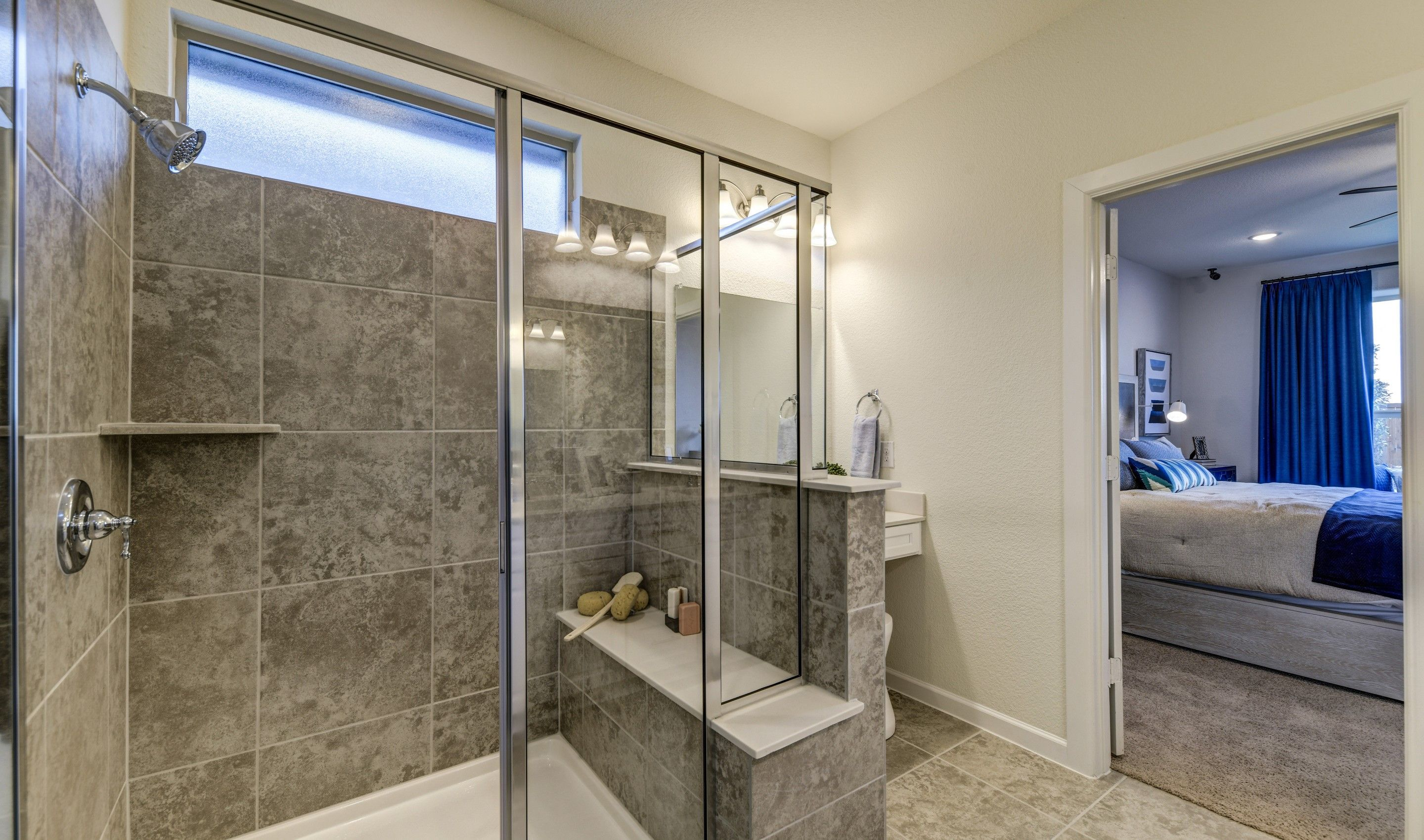 Bathroom featured in the Rockford By K. Hovnanian® Homes in Sherman-Denison, TX