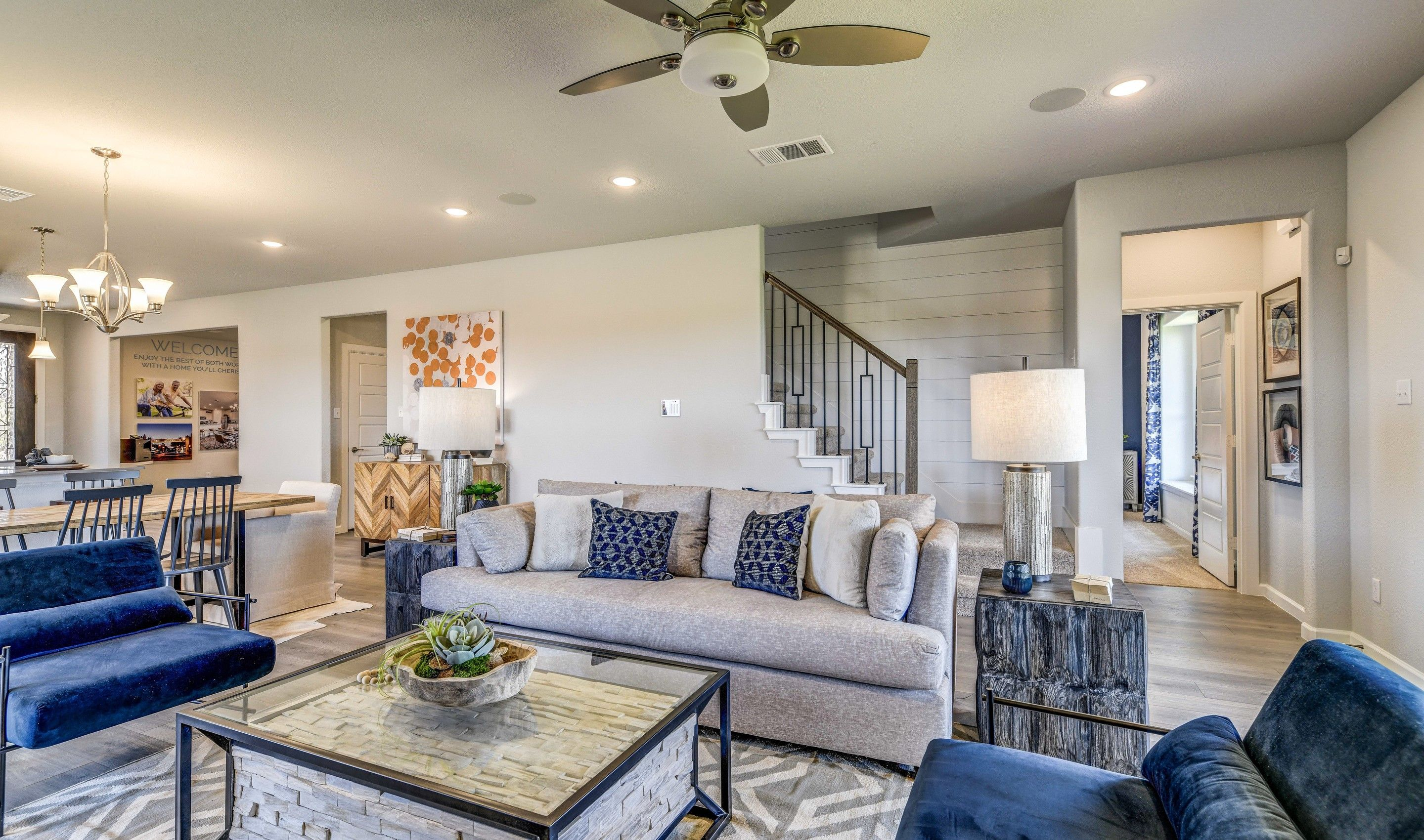Living Area featured in the Calloway By K. Hovnanian® Homes in Sherman-Denison, TX