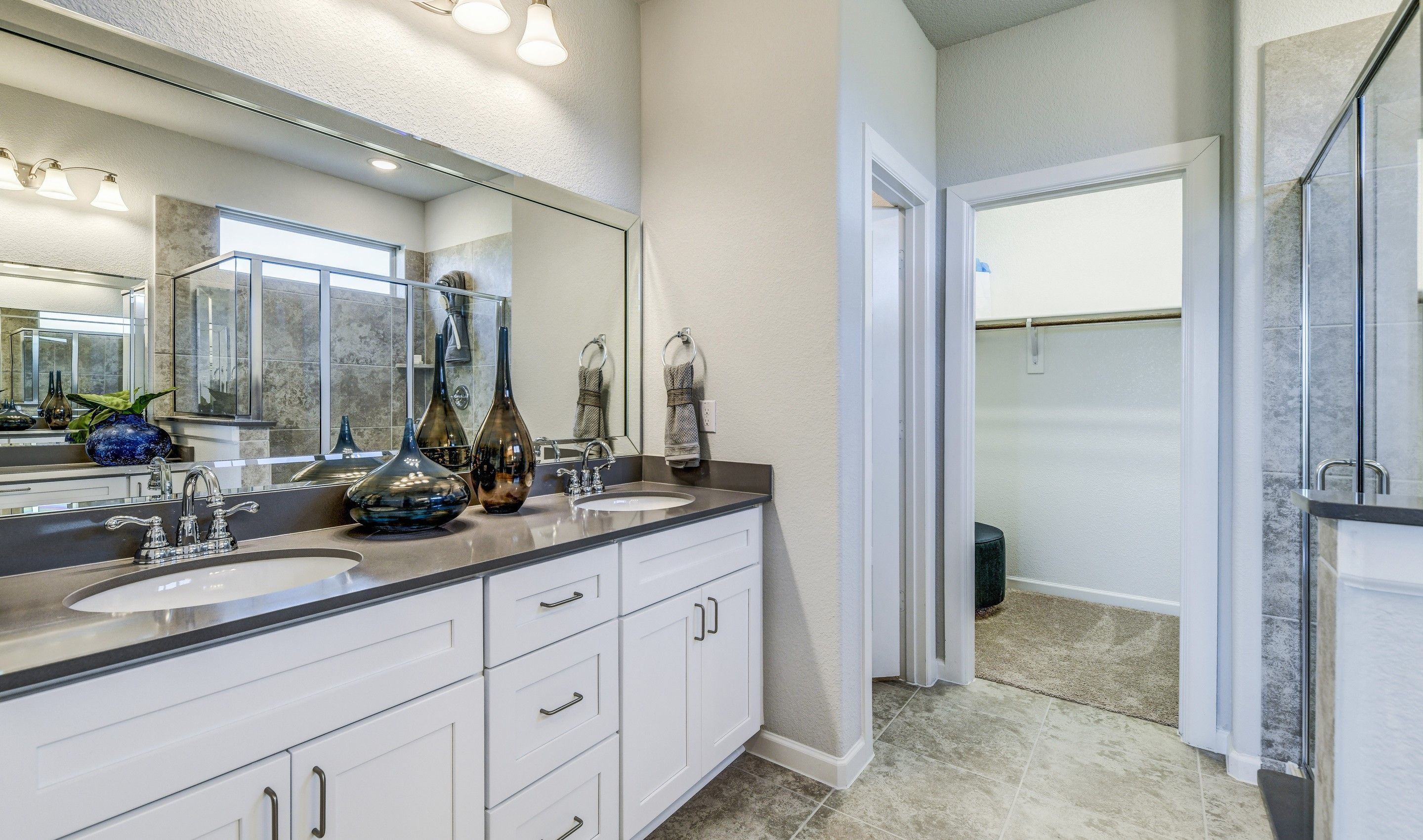 Bathroom featured in the Calloway By K. Hovnanian® Homes in Sherman-Denison, TX