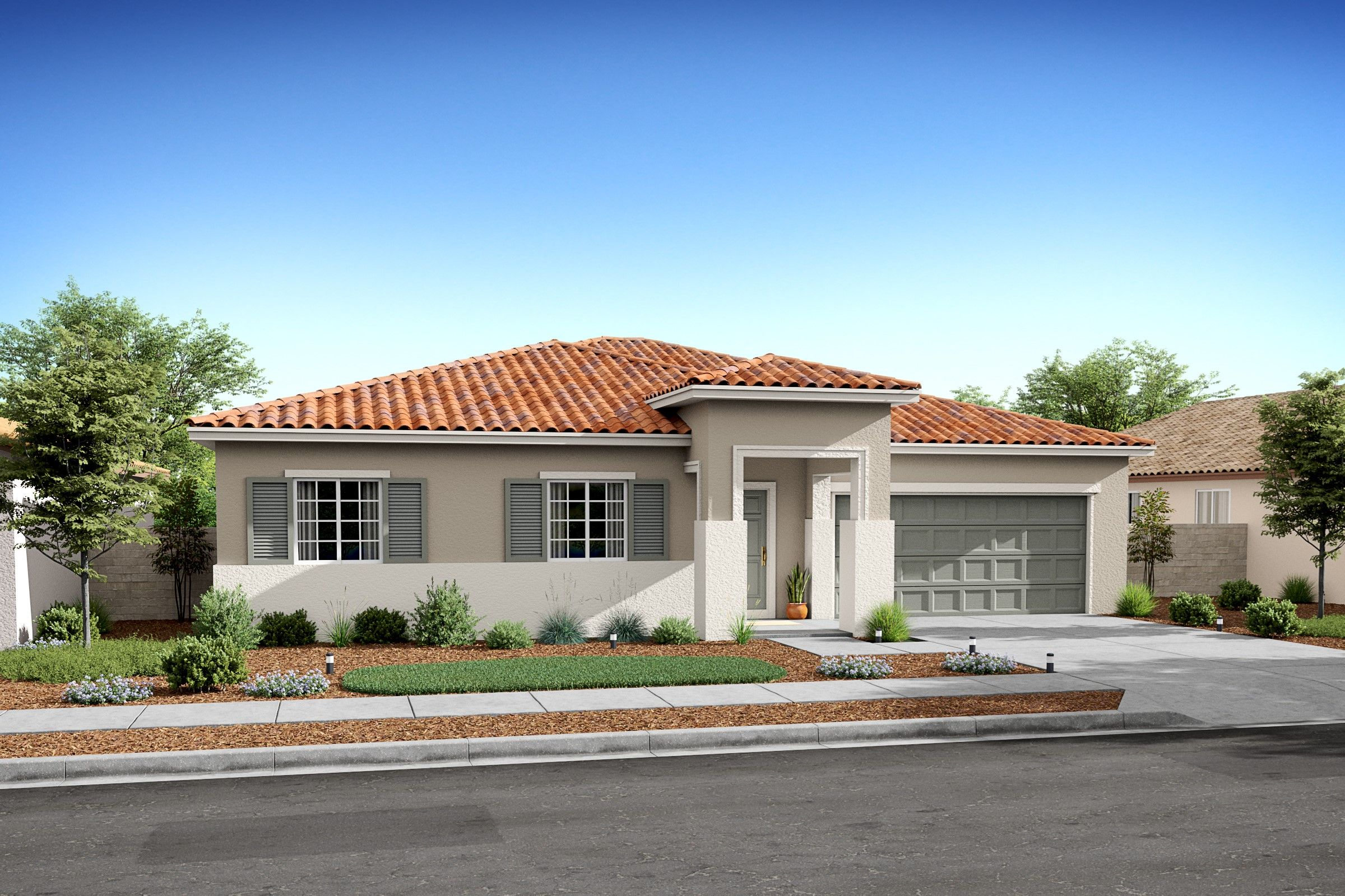 Exterior featured in the Verbena By K. Hovnanian® Homes in Bakersfield, CA