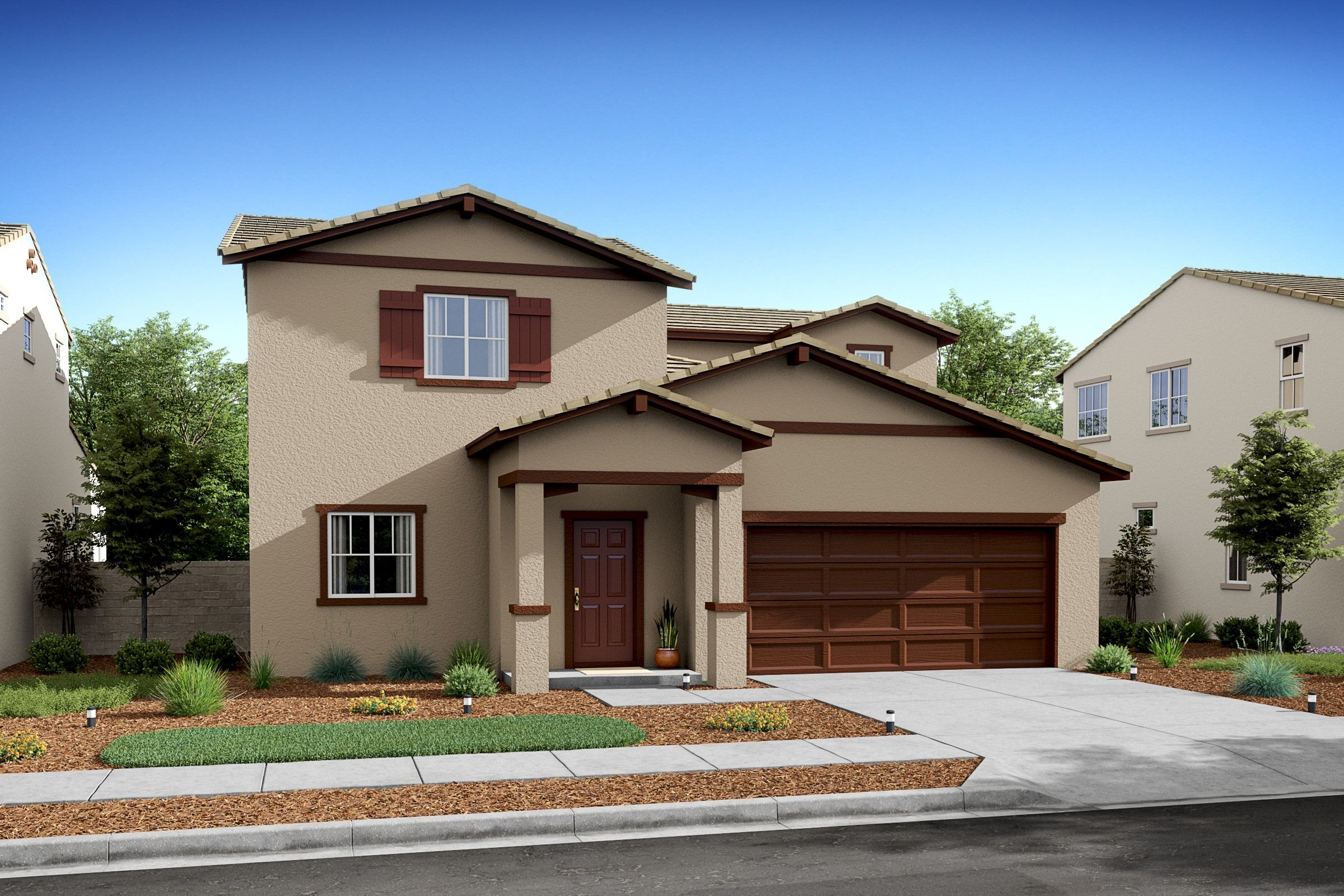 Exterior featured in the Agave By K. Hovnanian® Homes in Bakersfield, CA
