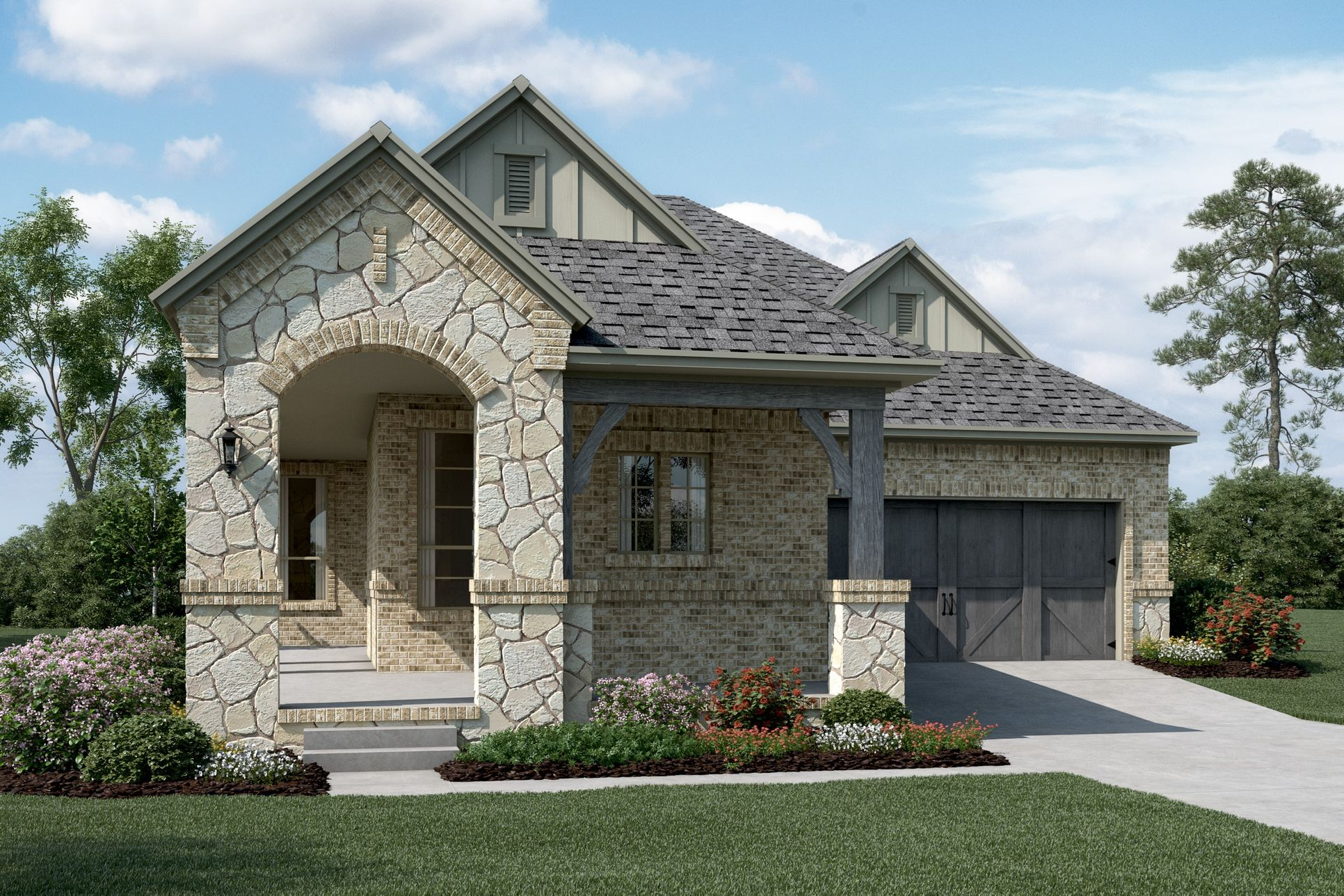 Exterior:Laguna - C - Optional stone
