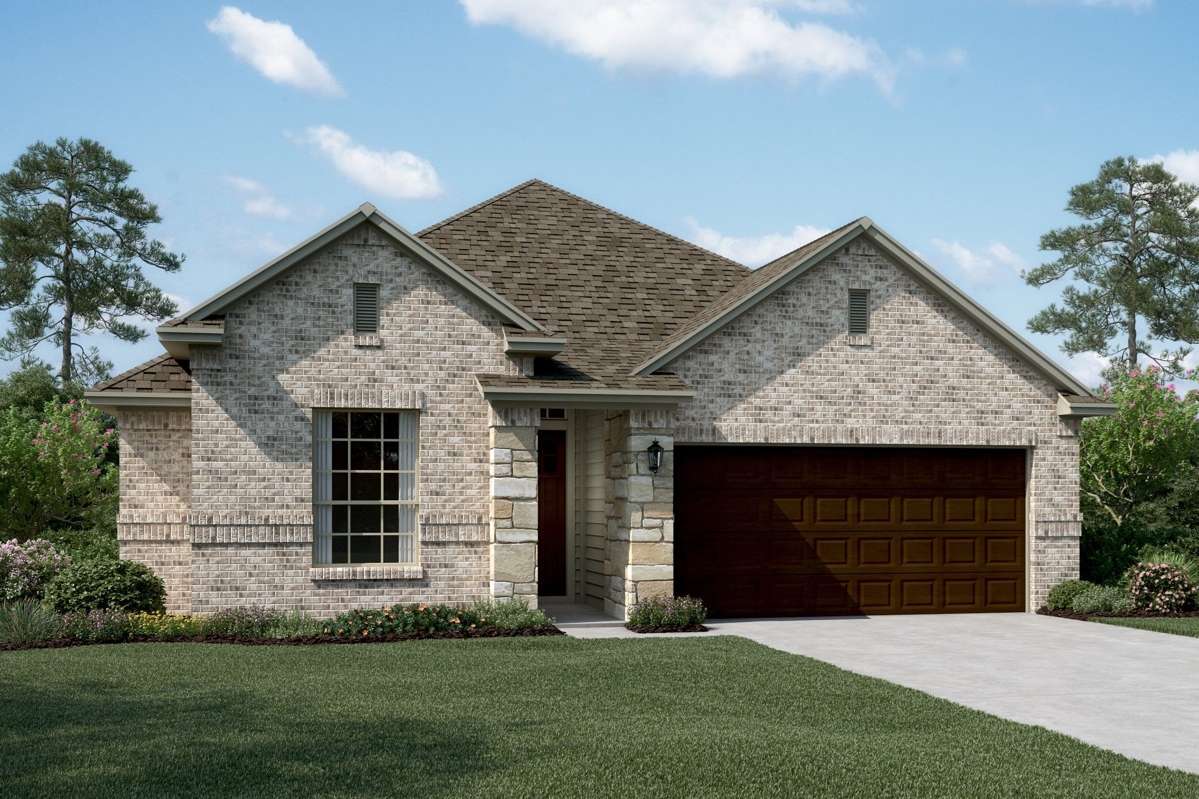 Exterior featured in the Keystone II By K. Hovnanian® Homes in Dallas, TX