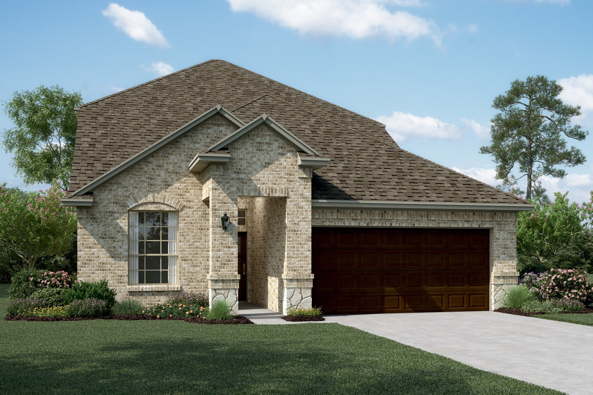 Exterior featured in the Waverly II By K. Hovnanian® Homes in Dallas, TX