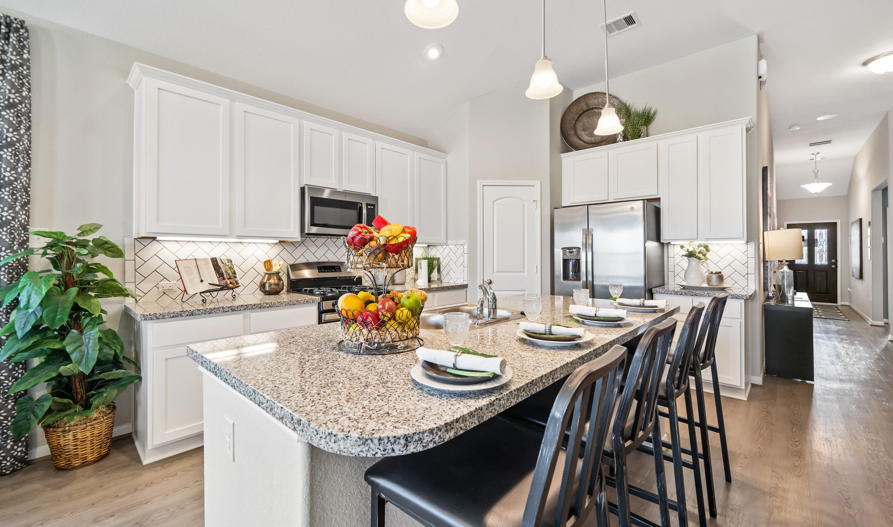Kitchen featured in the Coral By K. Hovnanian® Homes in Houston, TX