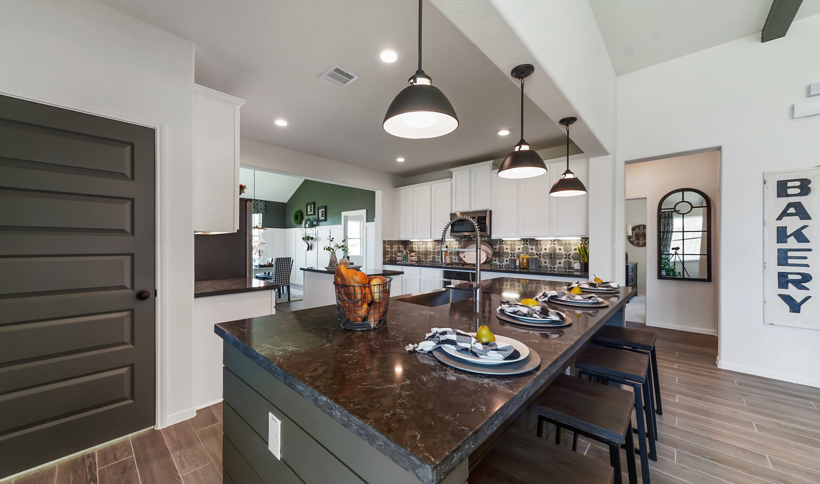 Kitchen featured in the Chase By K. Hovnanian® Homes in Houston, TX