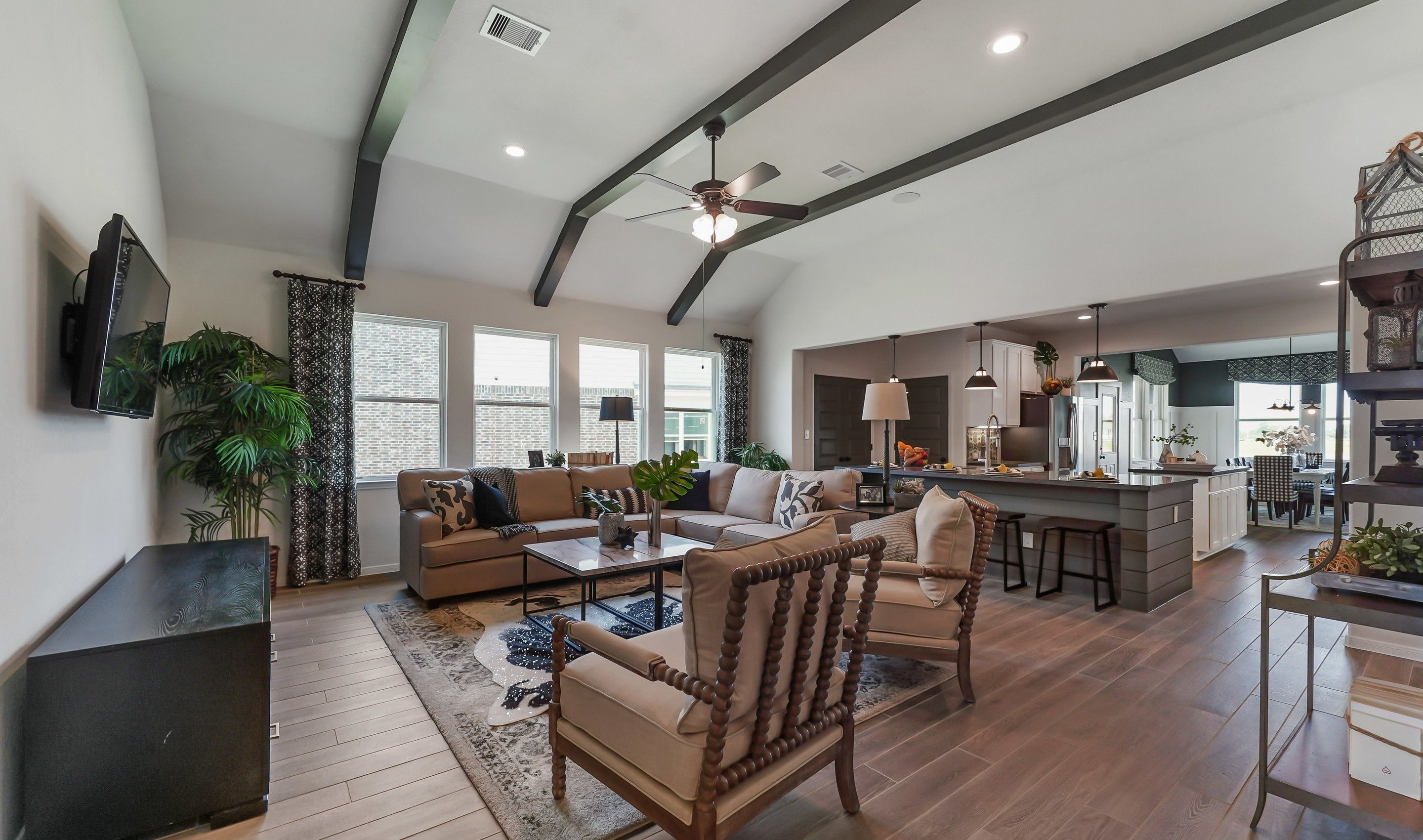 Living Area featured in the Chase By K. Hovnanian® Homes in Houston, TX
