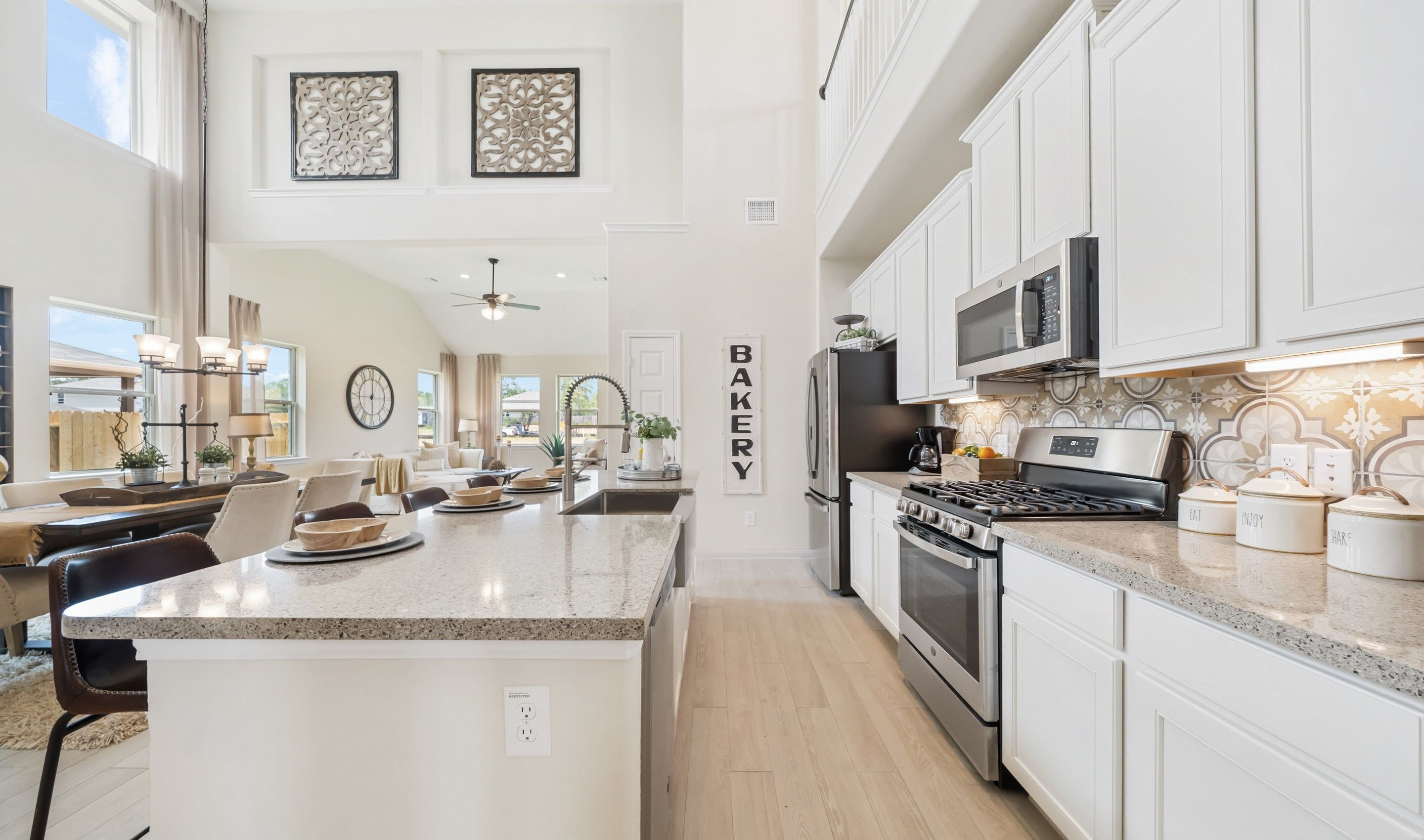 Kitchen featured in the Ashville By K. Hovnanian® Homes in Houston, TX