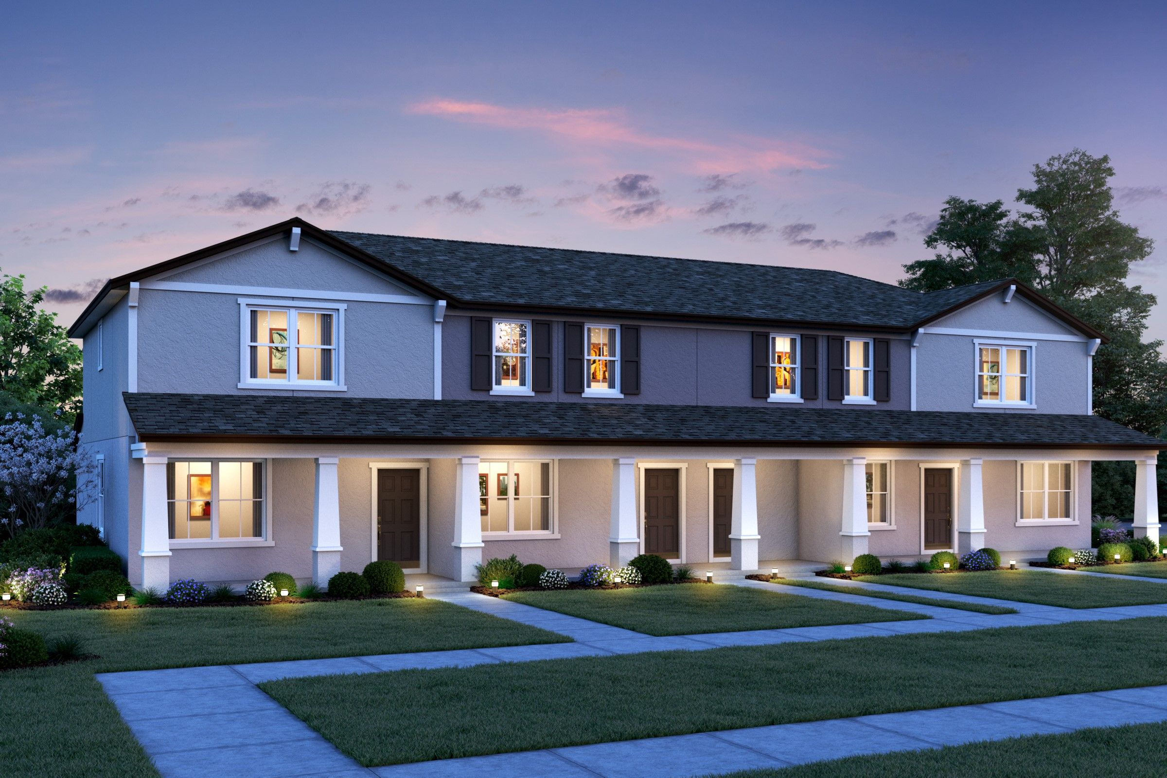 Exterior featured in the Loyola By K. Hovnanian® Homes in Daytona Beach, FL