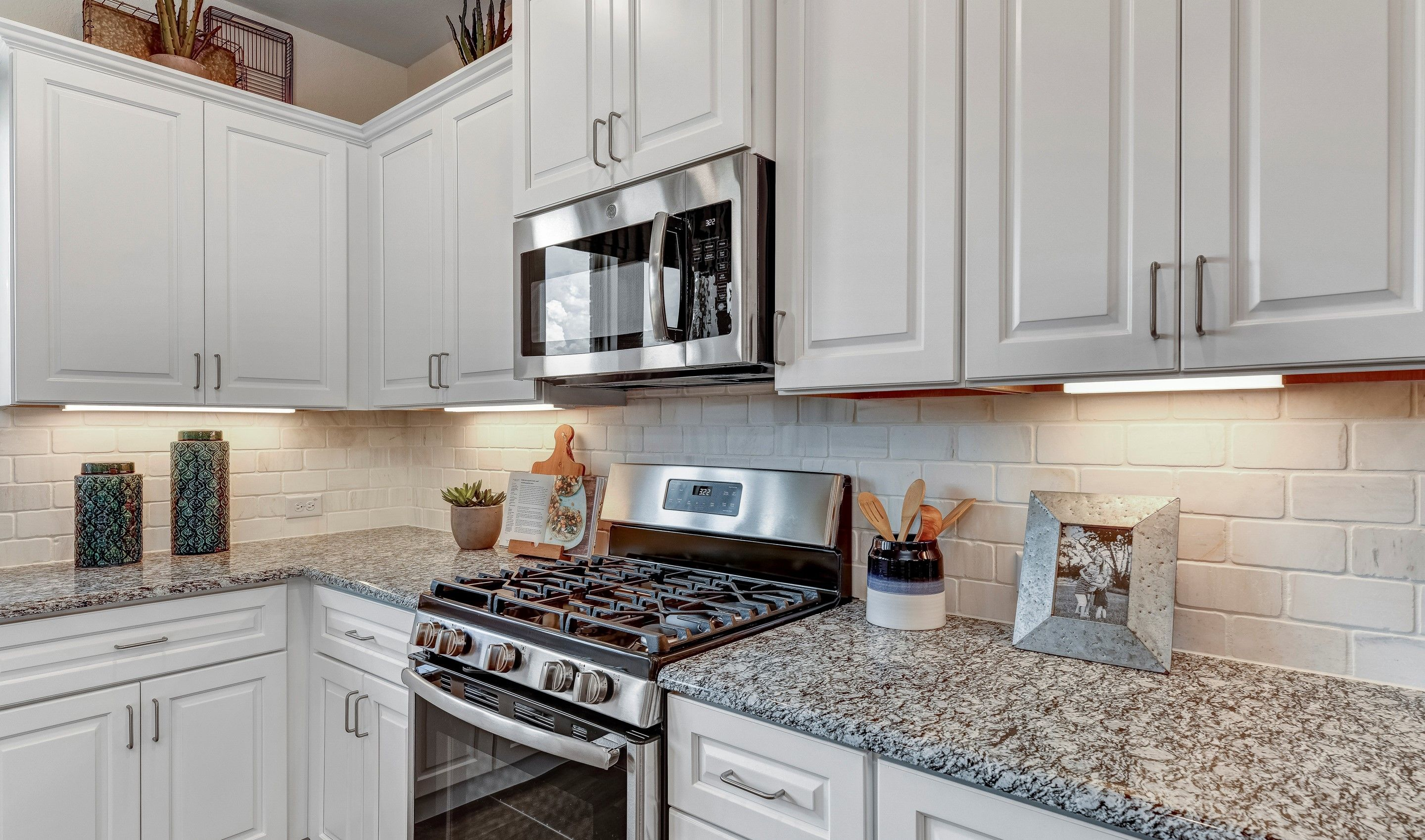 Kitchen featured in the Camelot By K. Hovnanian® Homes in Fort Worth, TX