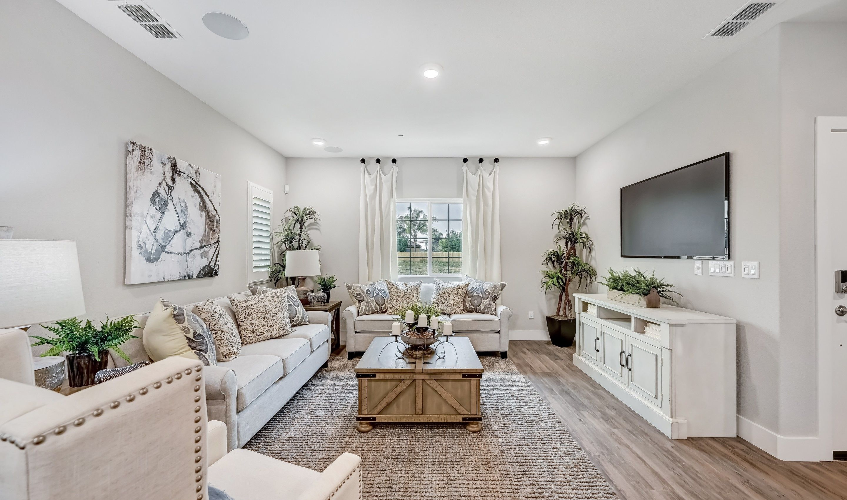 Living Area featured in the Topaz By K. Hovnanian® Homes in Fresno, CA