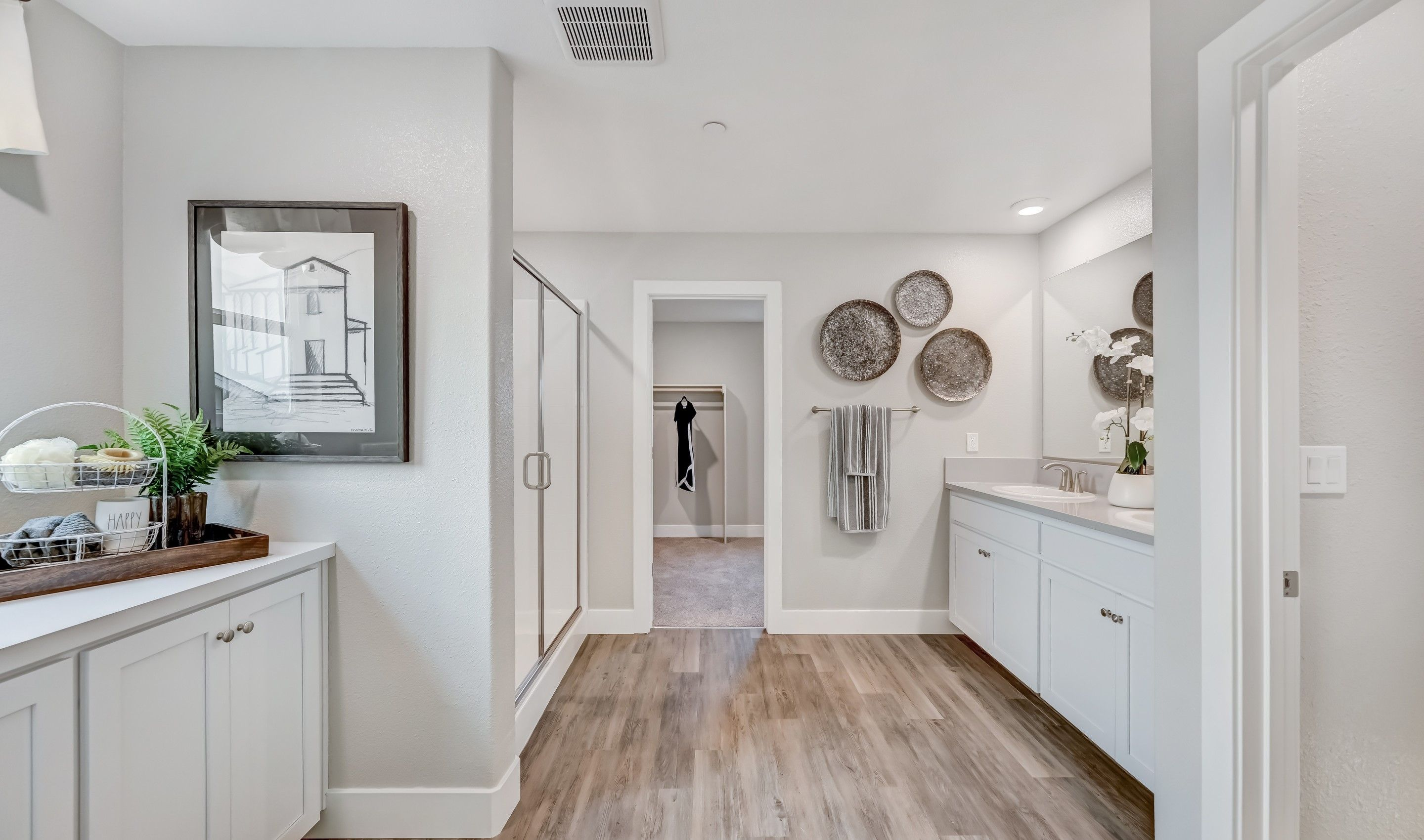Bathroom featured in the Topaz By K. Hovnanian® Homes in Fresno, CA