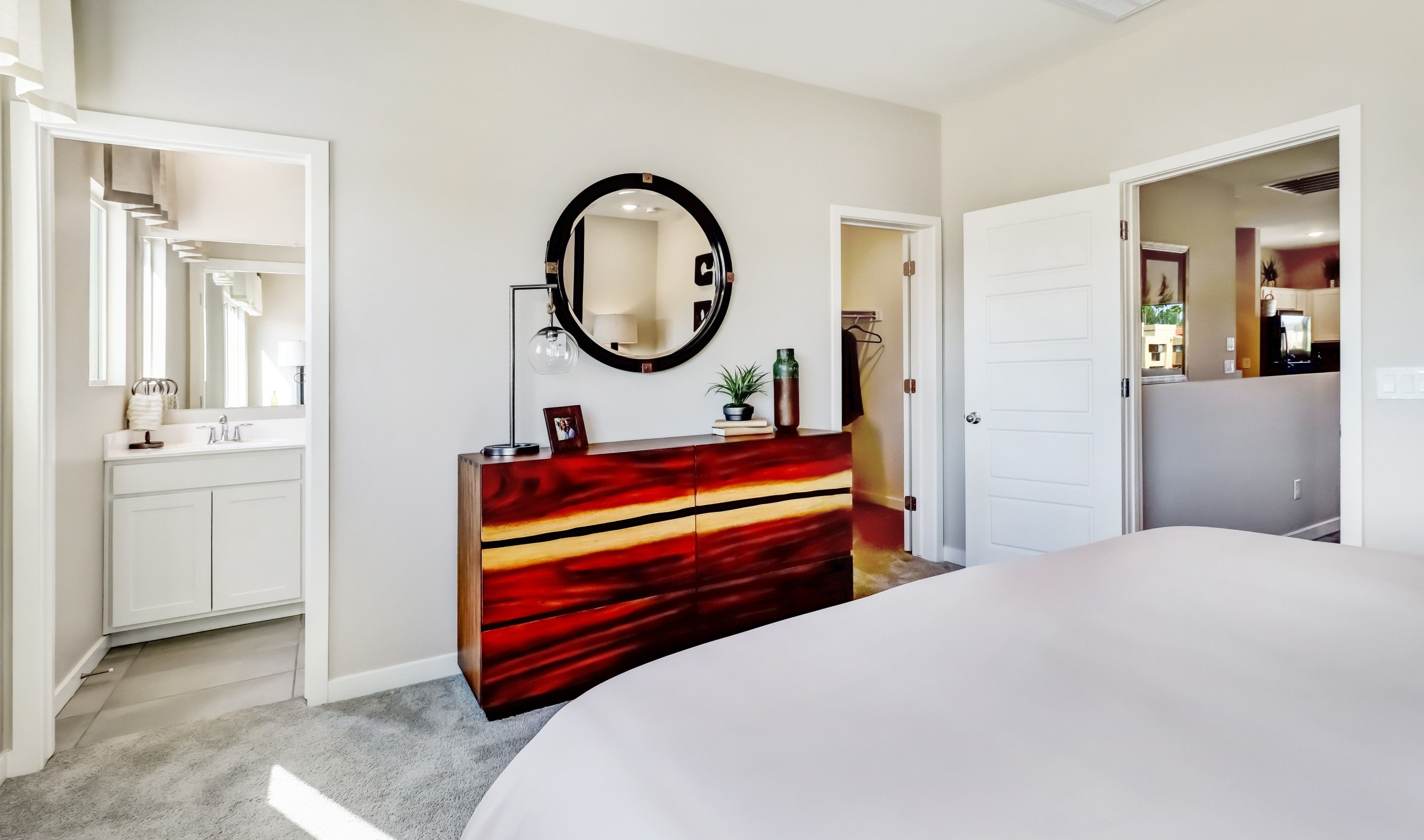 Bedroom featured in the Aquila By K. Hovnanian® Homes in Phoenix-Mesa, AZ