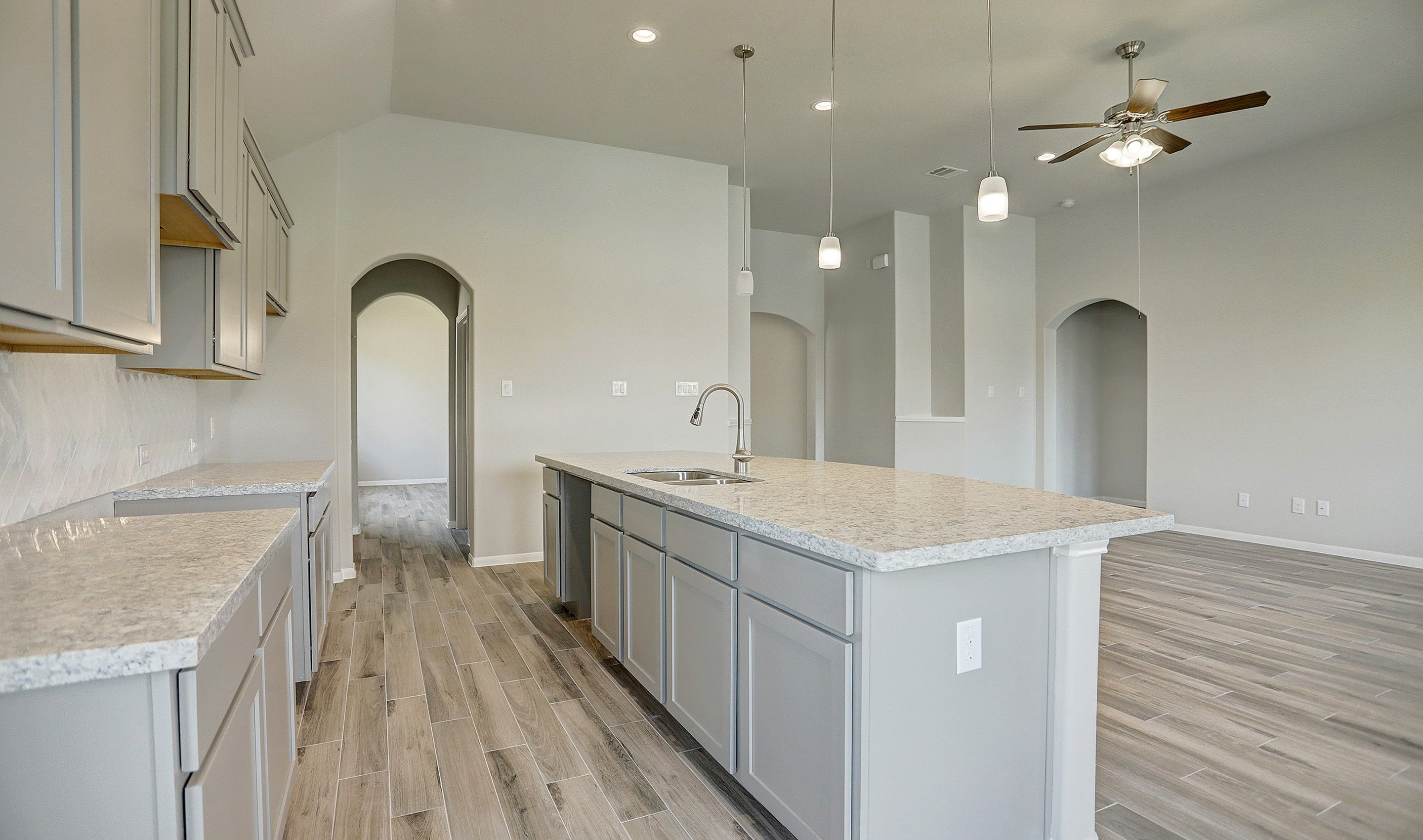 Kitchen featured in the Willard II By K. Hovnanian® Homes in Houston, TX