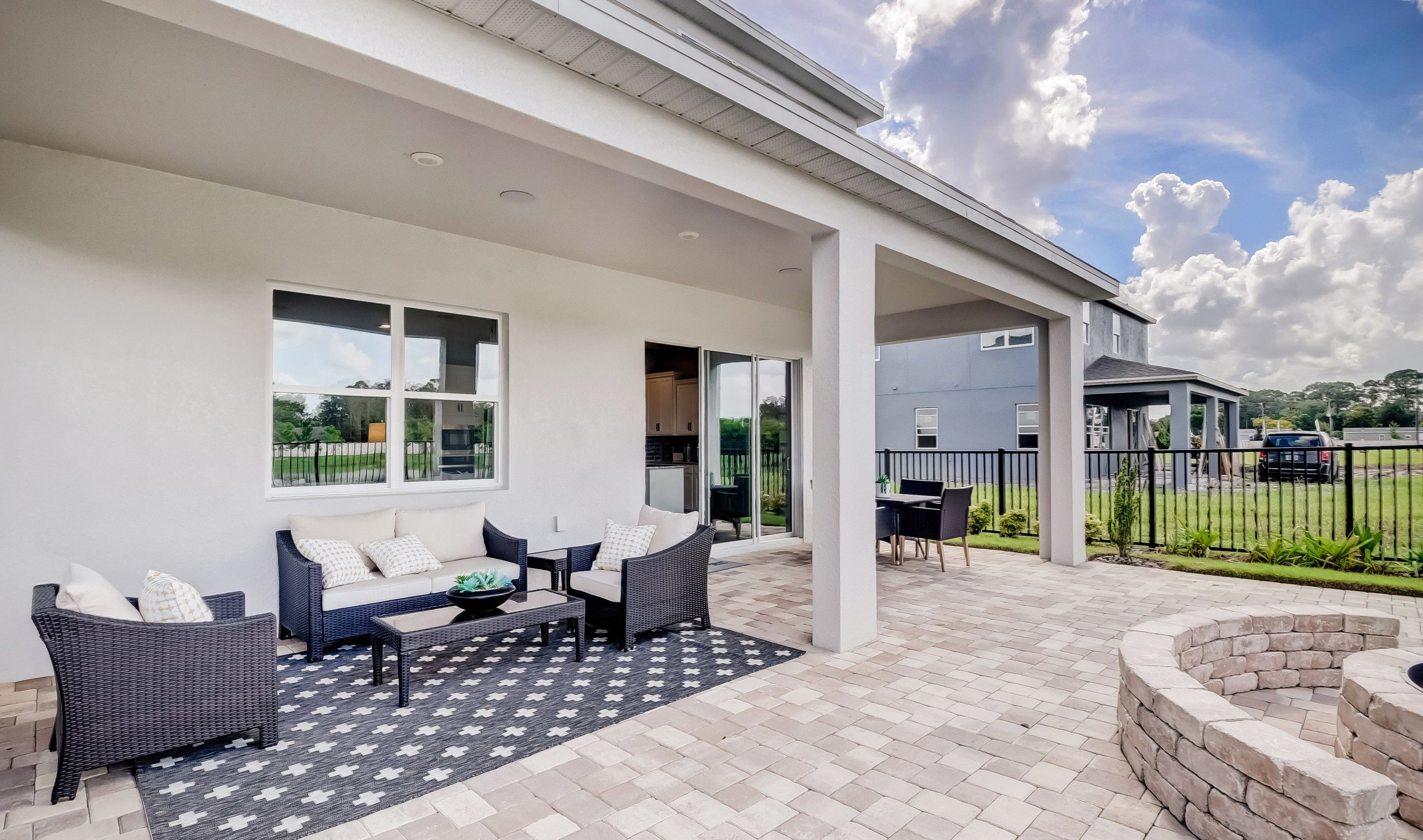 Exterior featured in the Paloma By K. Hovnanian® Homes in Orlando, FL
