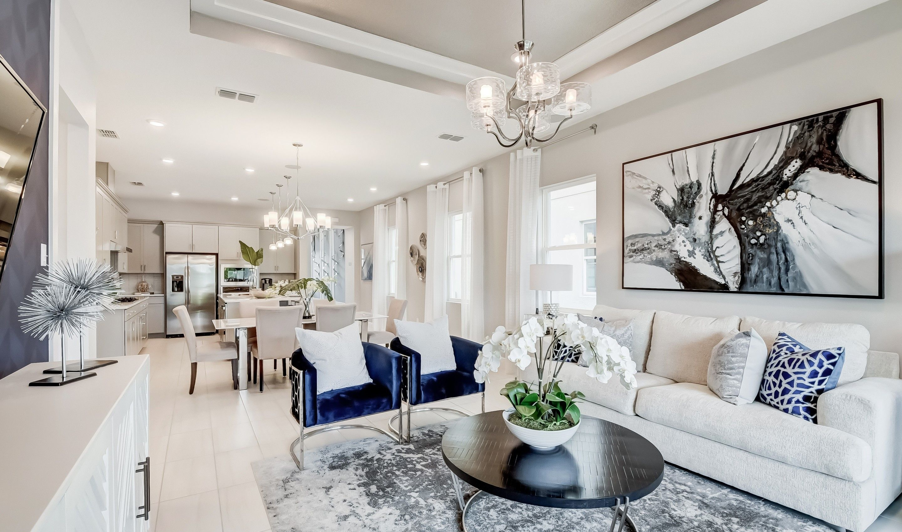 Living Area featured in the Valencia II By K. Hovnanian® Homes in Orlando, FL