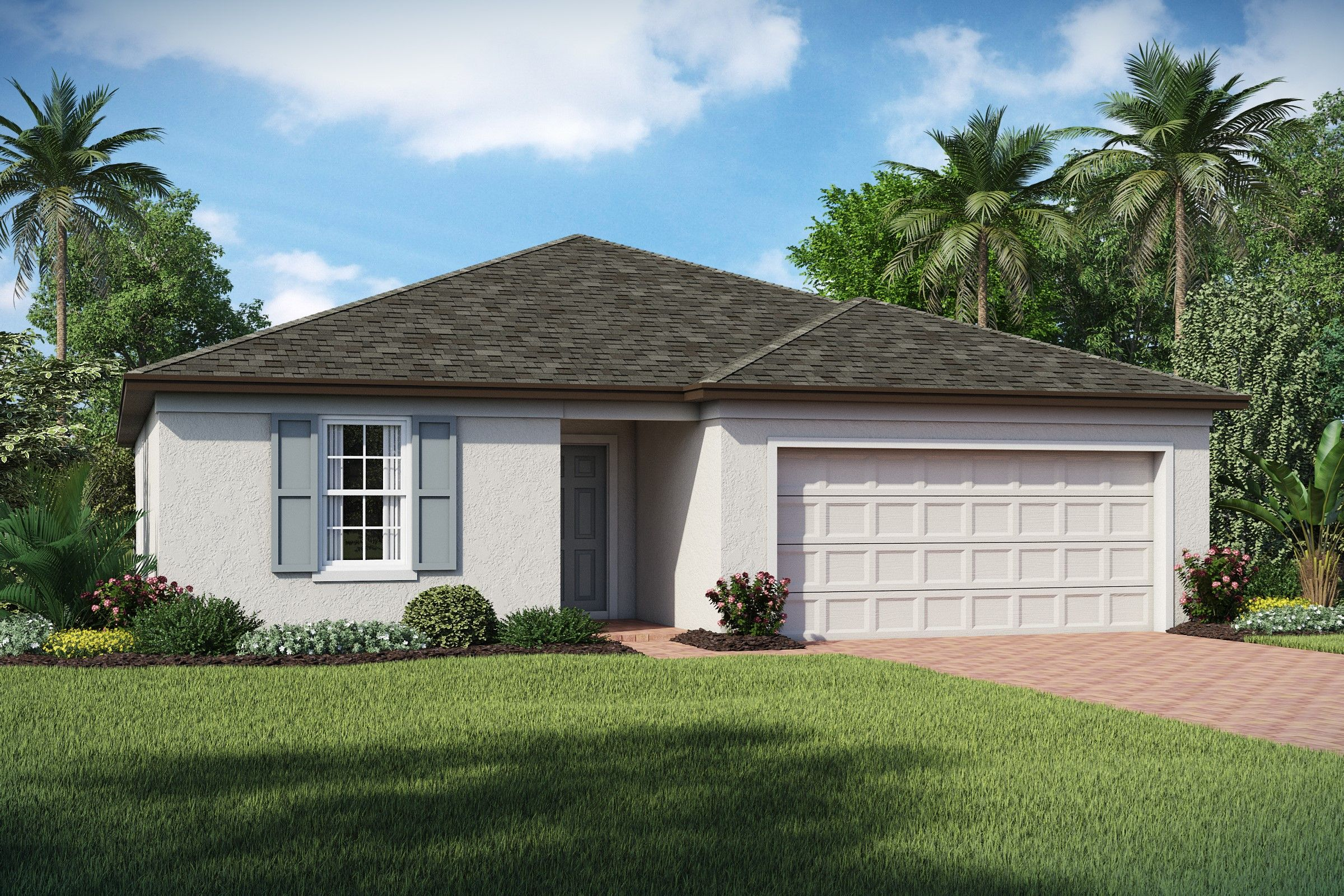 Exterior featured in the Dupont By K. Hovnanian® Homes in Tampa-St. Petersburg, FL