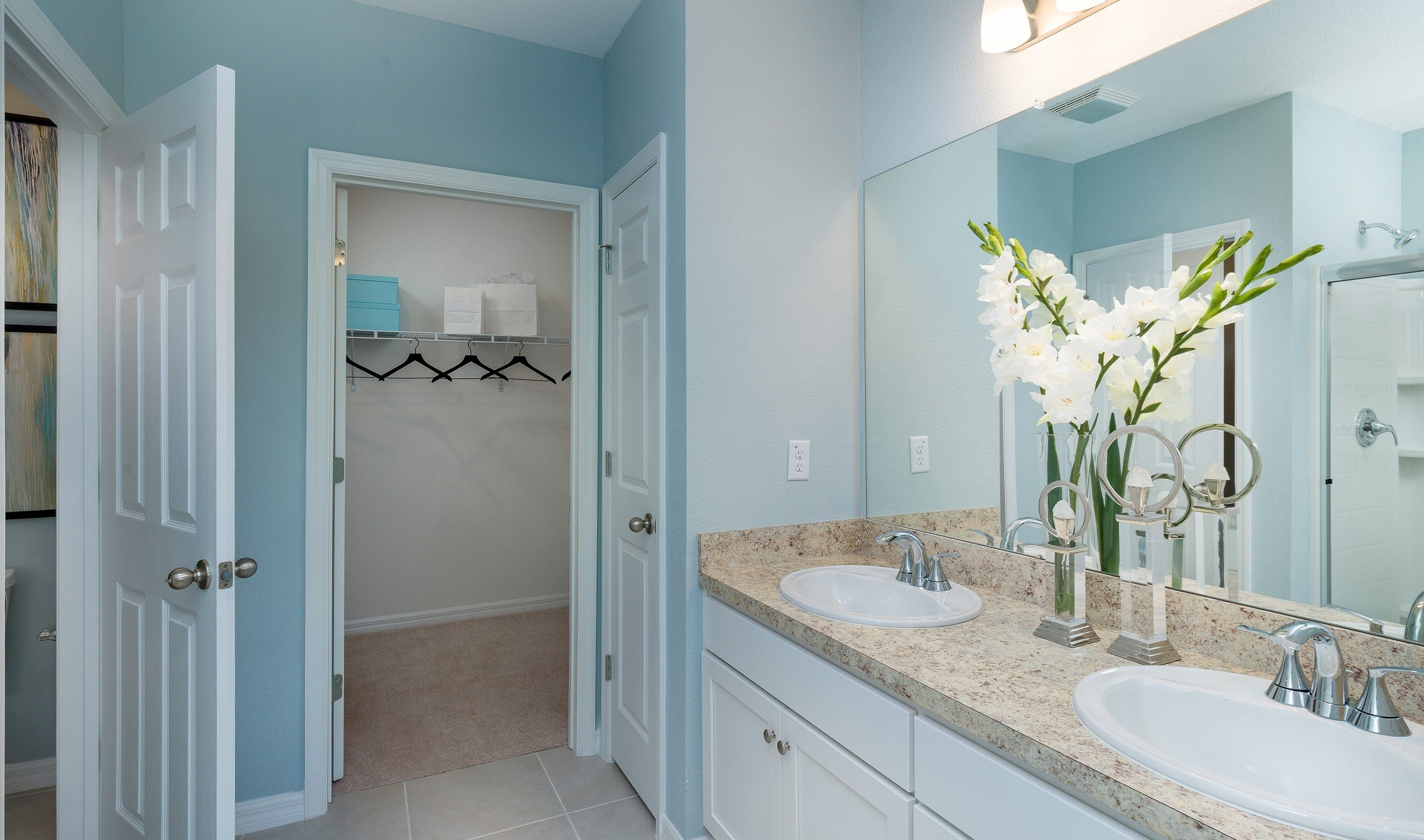 Bathroom featured in the Dupont By K. Hovnanian® Homes in Martin-St. Lucie-Okeechobee Counties, FL