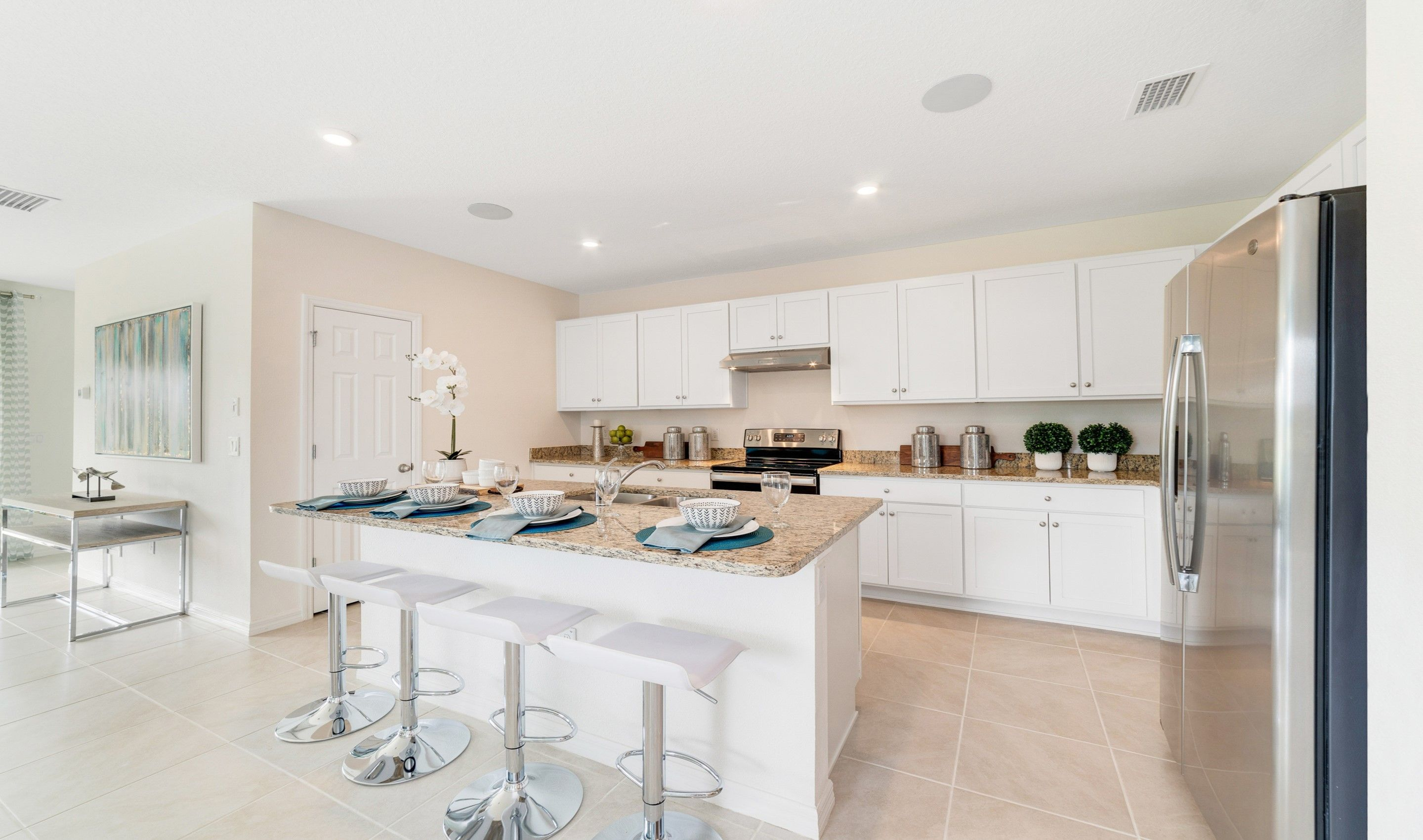 Kitchen featured in the Dupont By K. Hovnanian® Homes in Martin-St. Lucie-Okeechobee Counties, FL