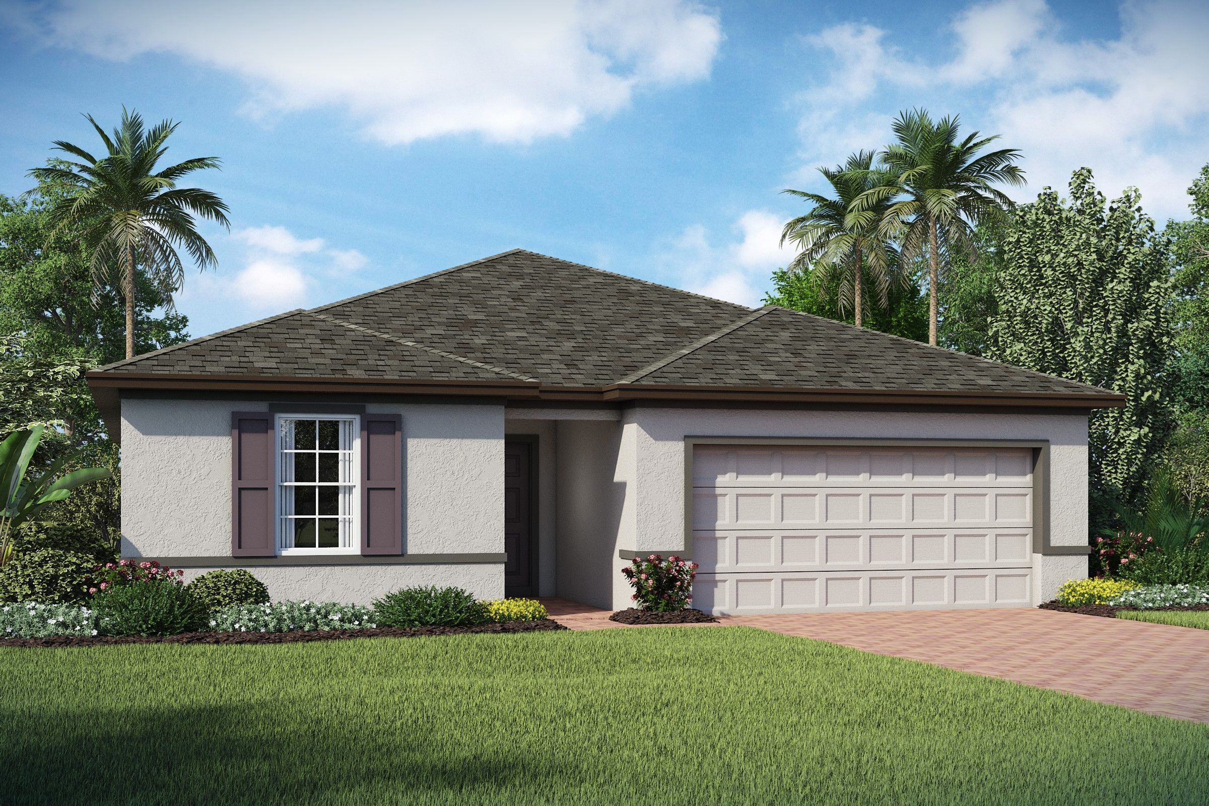 Exterior featured in the Palmera By K. Hovnanian® Homes in Tampa-St. Petersburg, FL