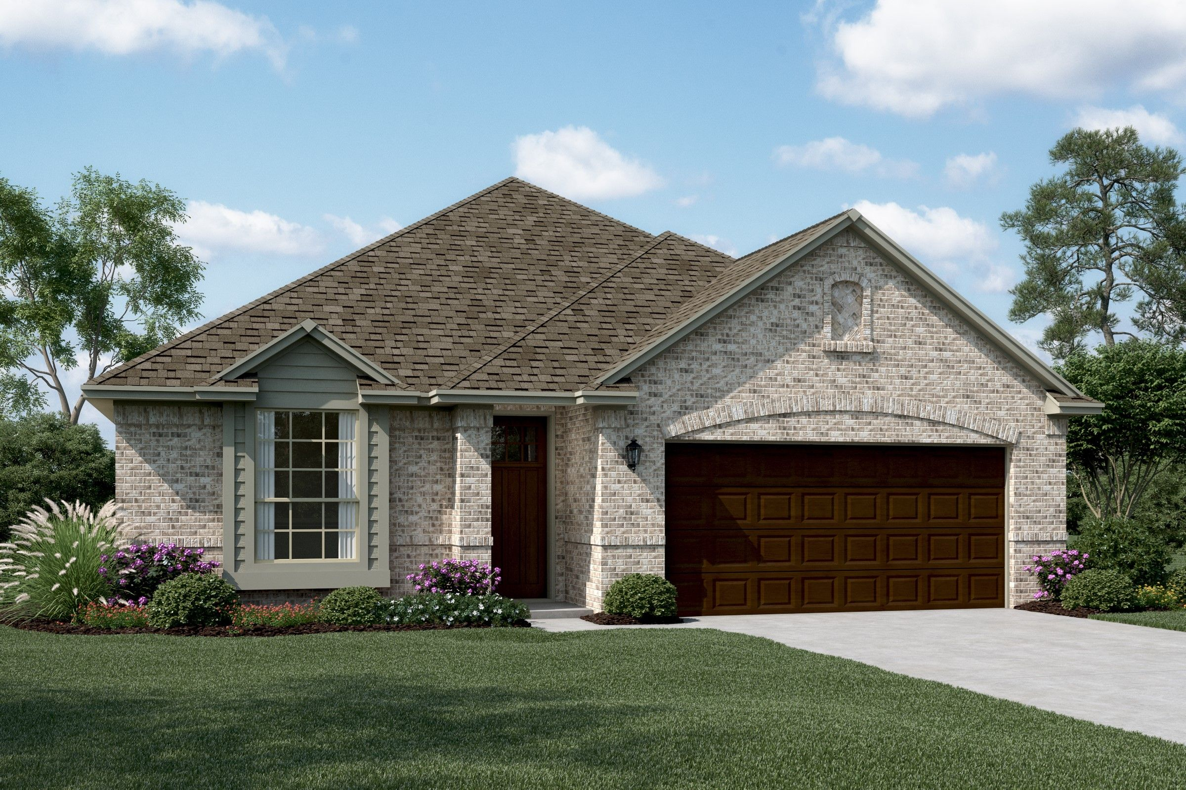 Exterior featured in the Birkdale II By K. Hovnanian® Homes in Fort Worth, TX
