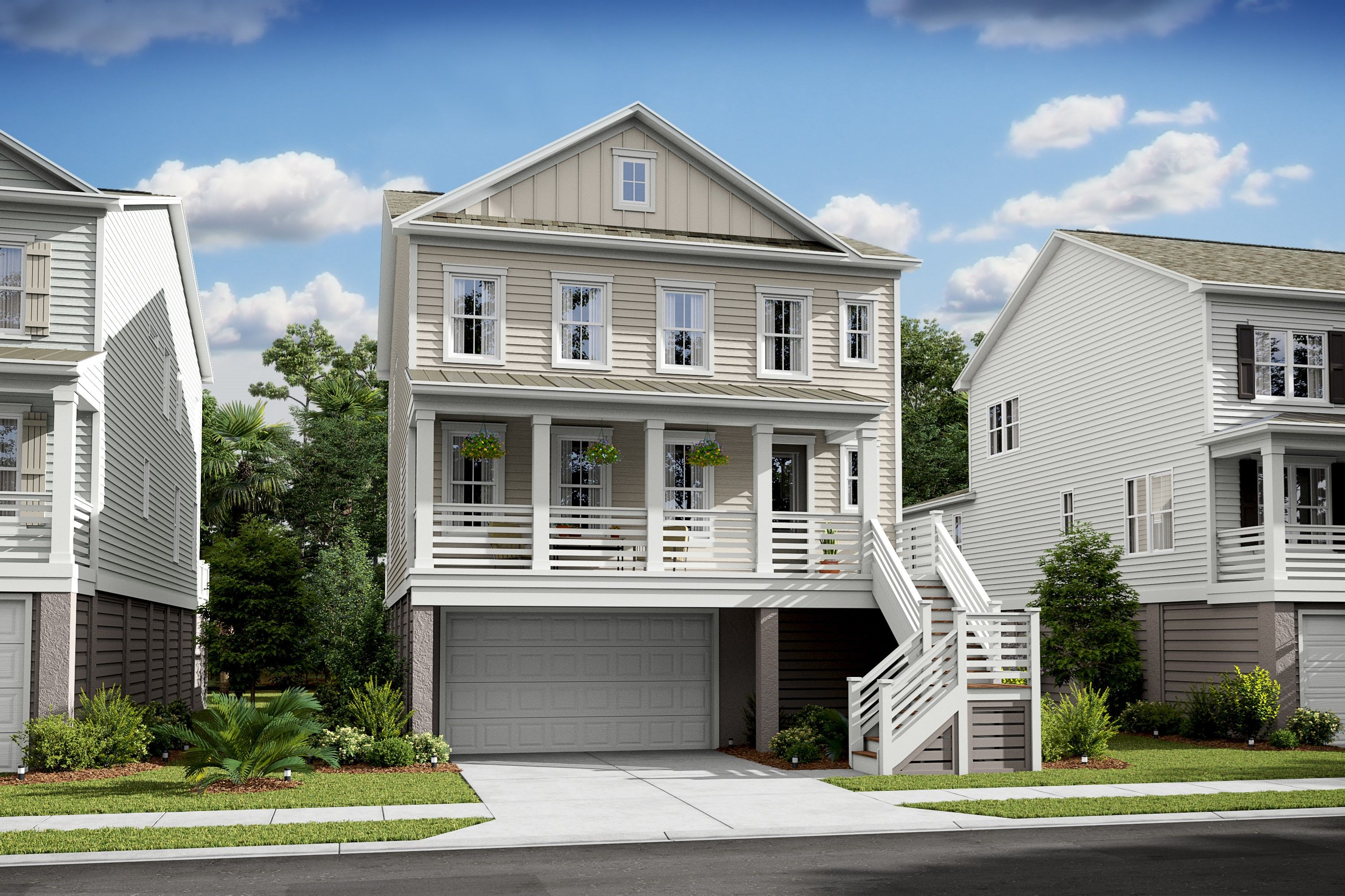 Exterior featured in the Stono By K. Hovnanian® Homes in Charleston, SC