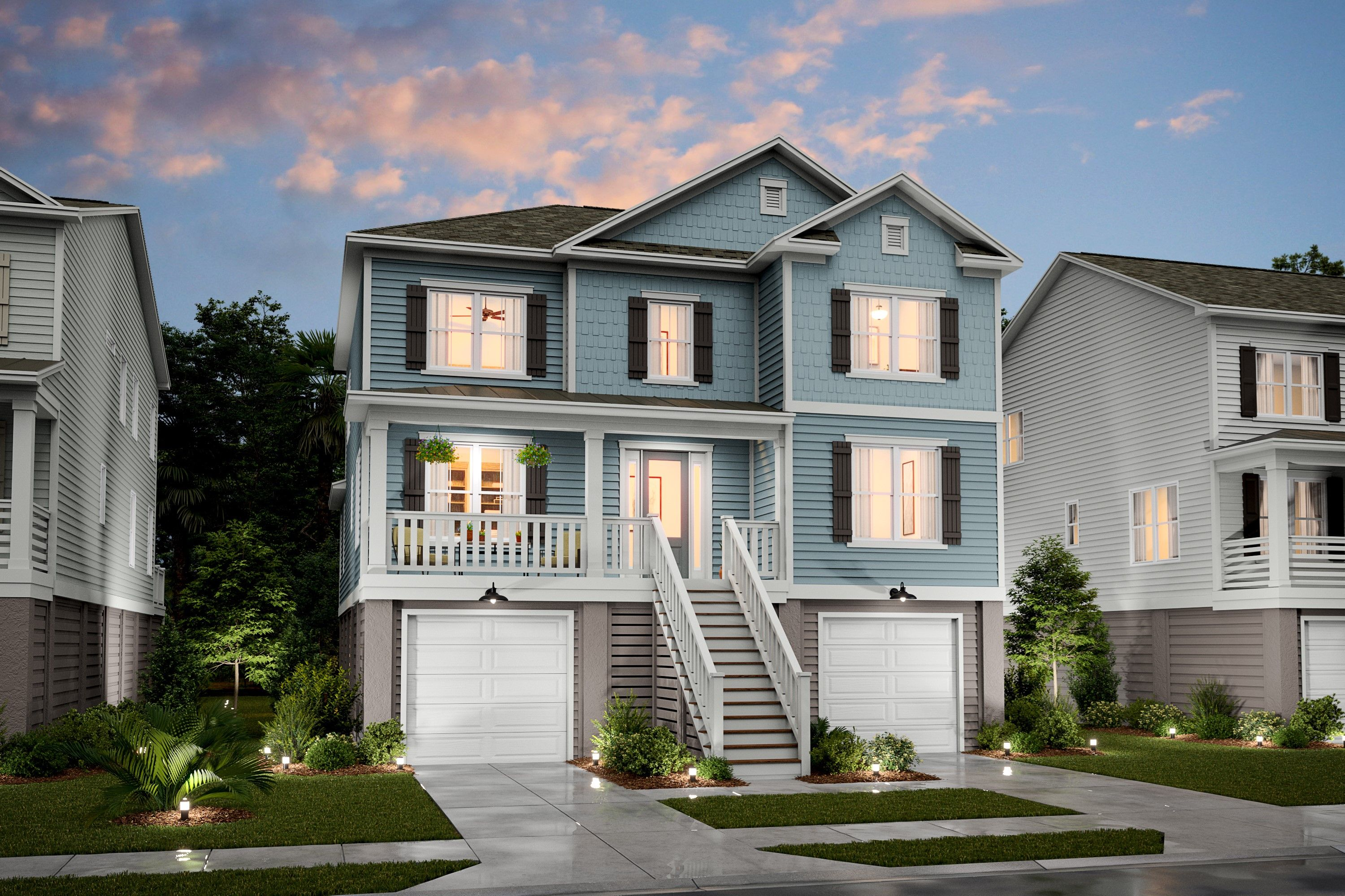 Exterior featured in the Capers By K. Hovnanian® Homes in Charleston, SC