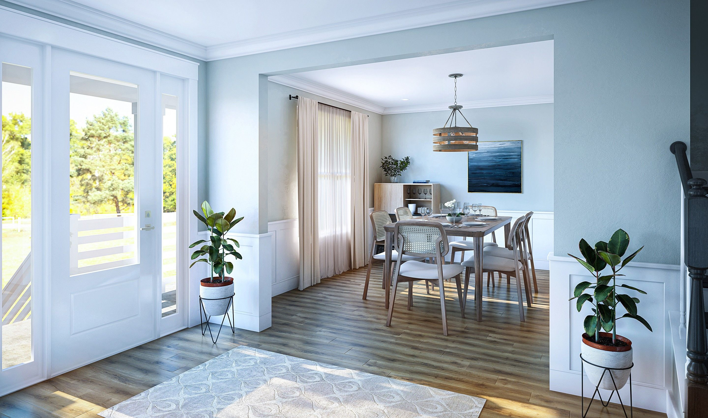 Living Area featured in the Capers By K. Hovnanian® Homes in Charleston, SC