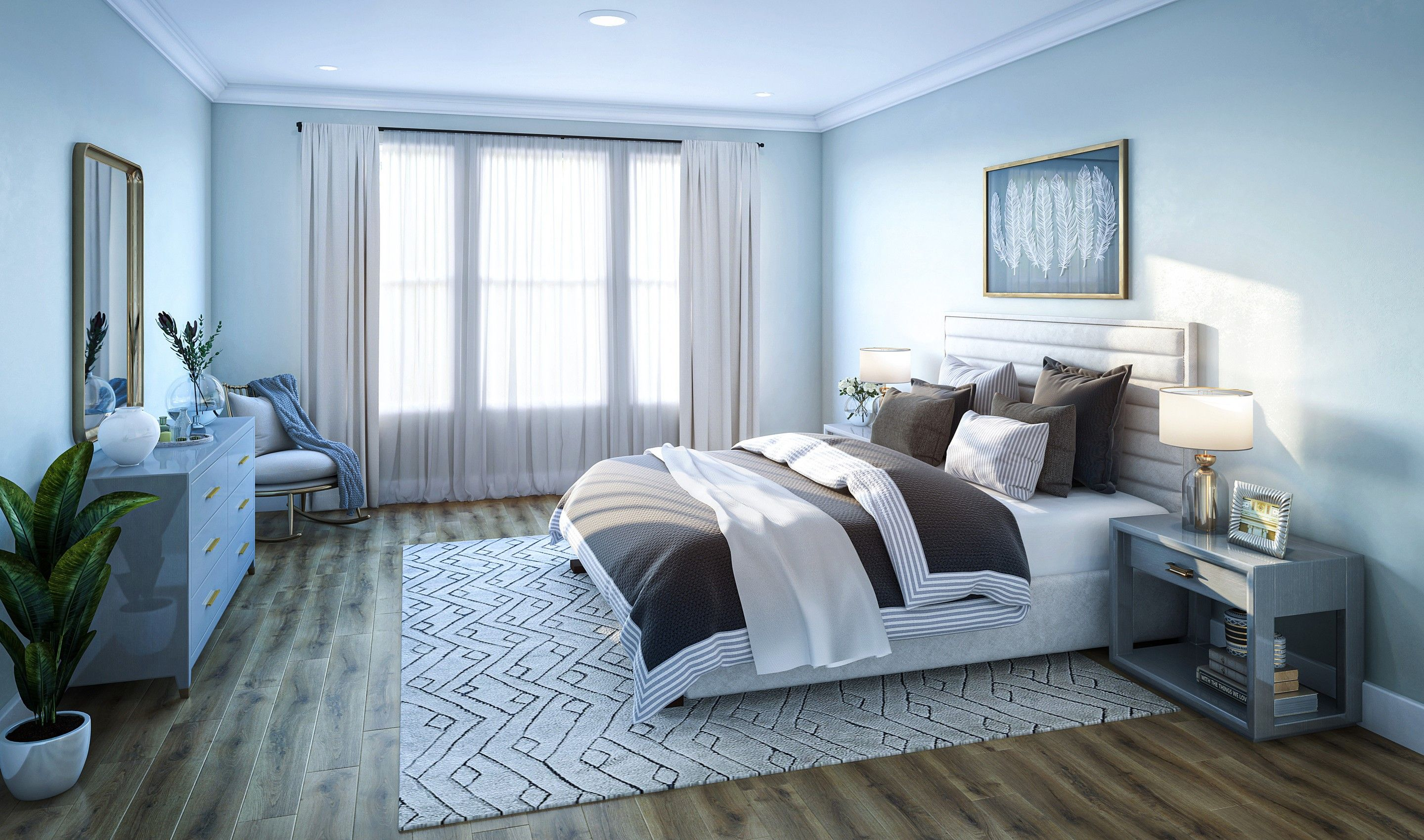 Bedroom featured in the Capers By K. Hovnanian® Homes in Charleston, SC