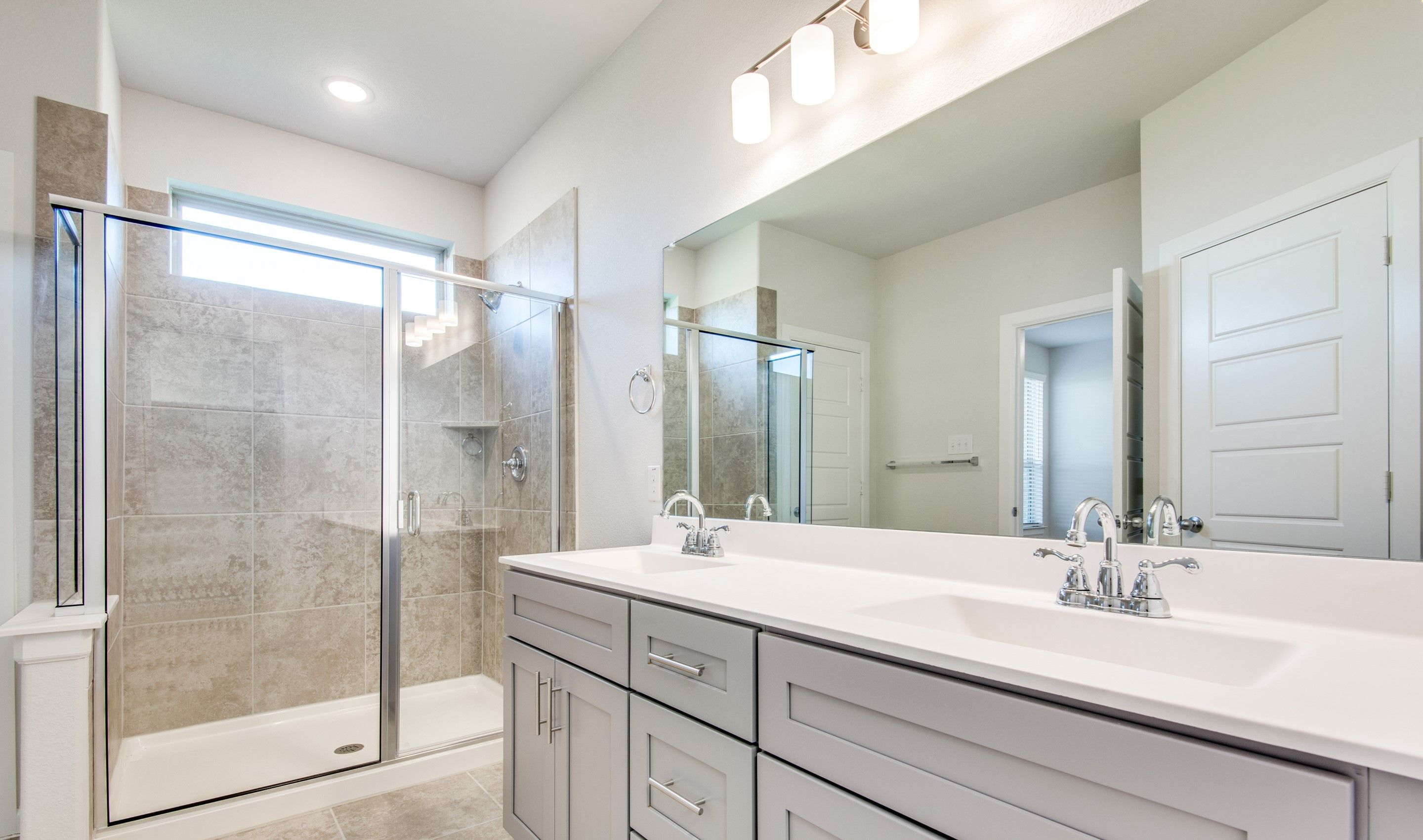 Bathroom featured in the Coronado By K. Hovnanian® Homes in Sherman-Denison, TX