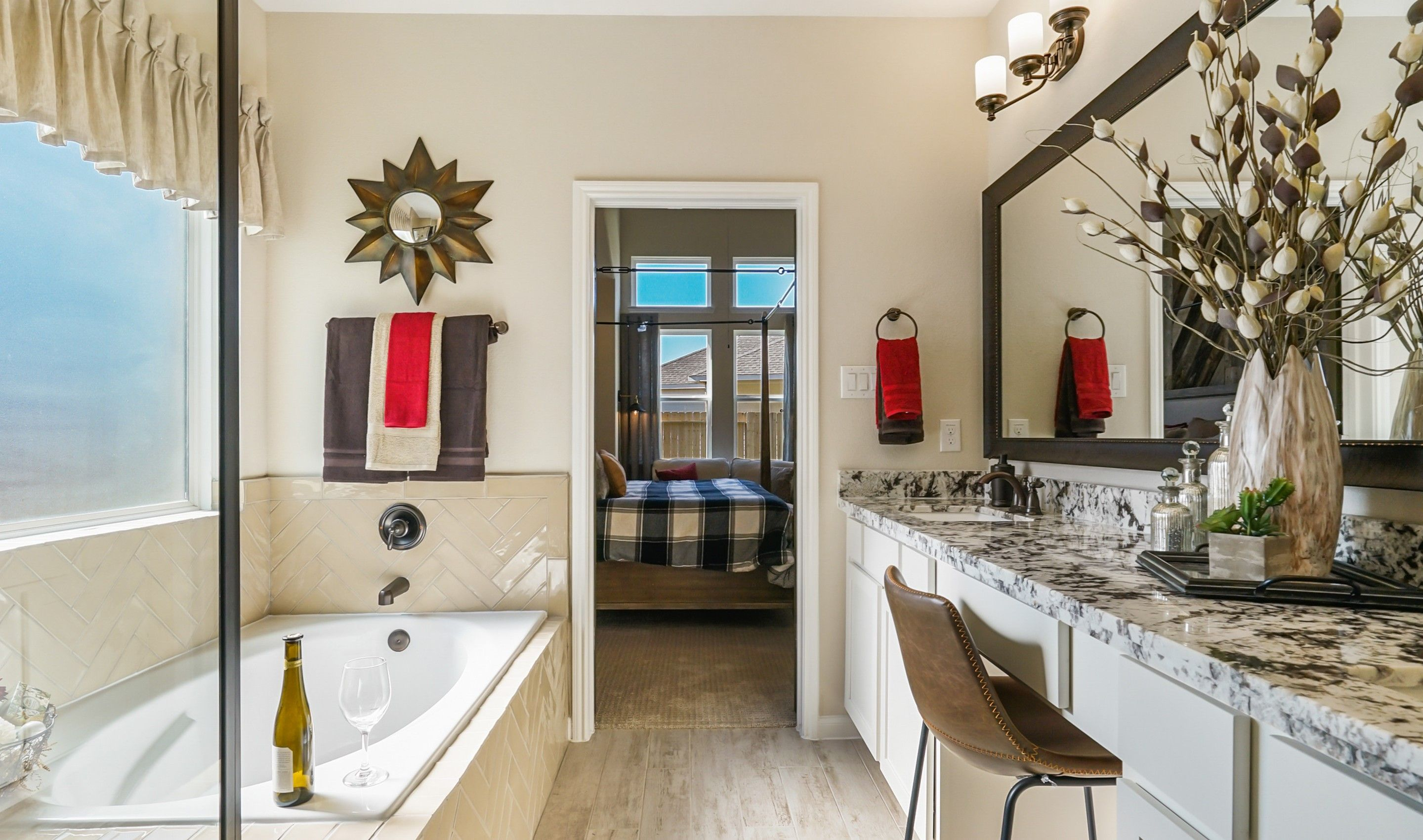 Bathroom featured in the Savannah By K. Hovnanian® Homes in Houston, TX