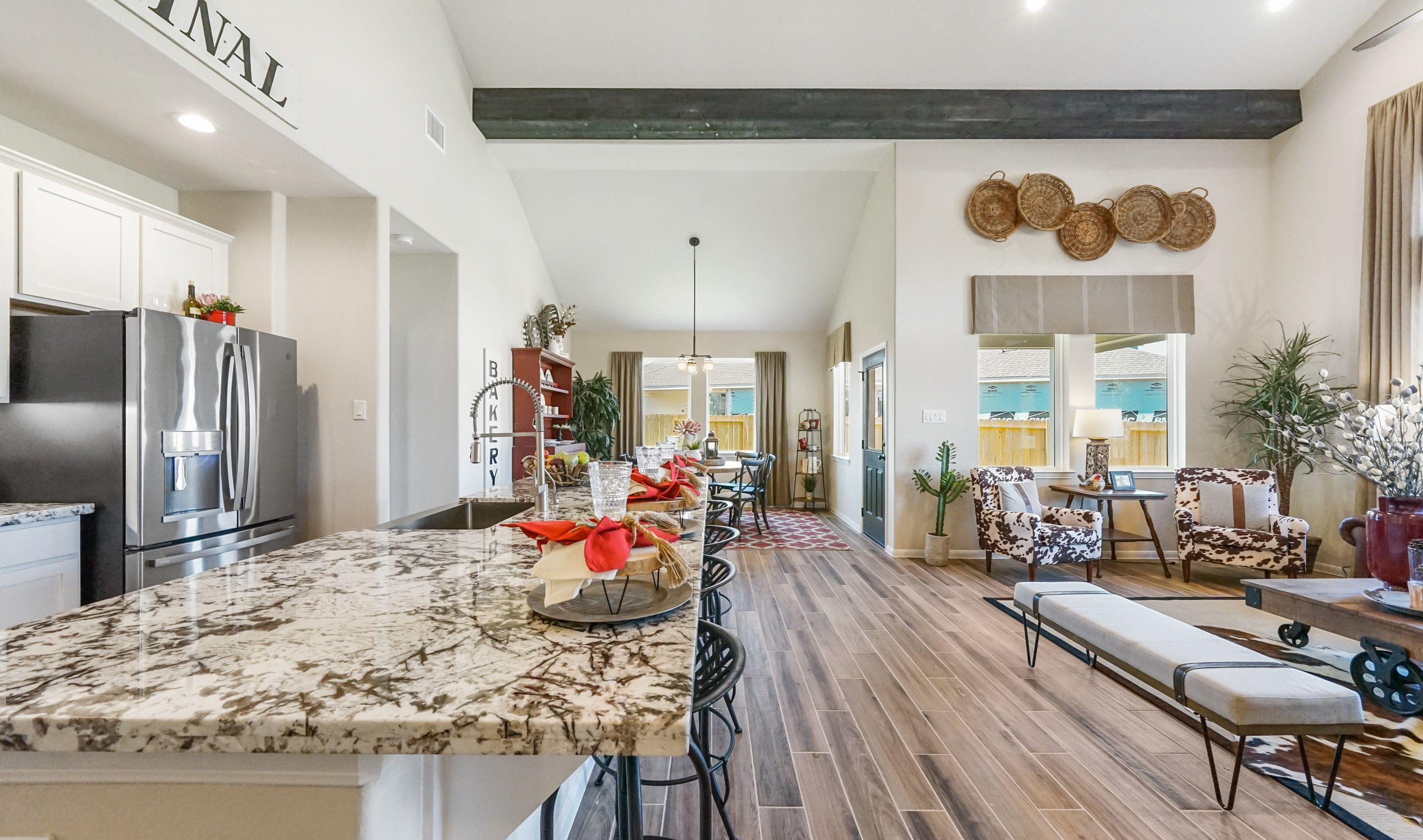 Living Area featured in the Savannah By K. Hovnanian® Homes in Houston, TX
