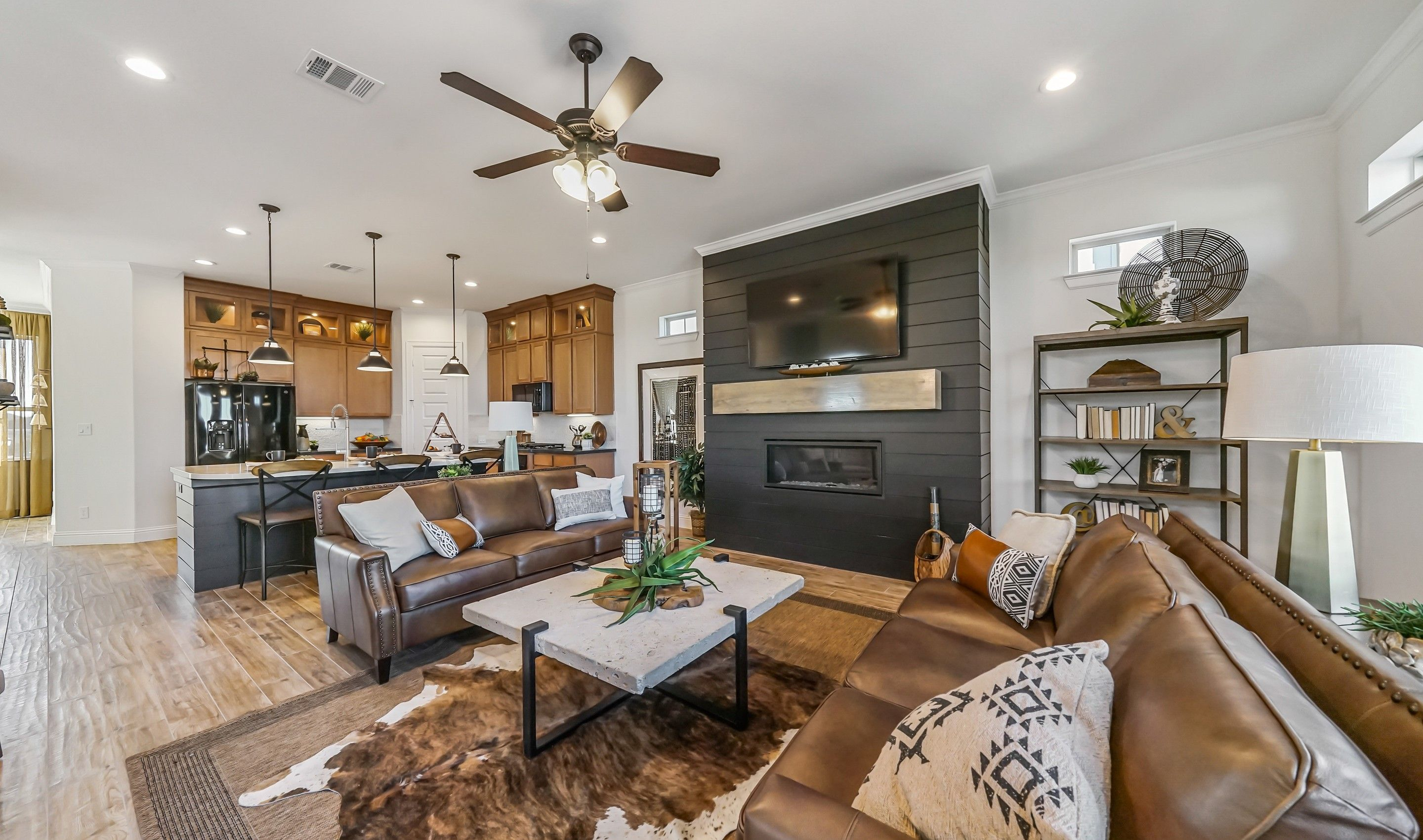 Living Area featured in the Athena II By K. Hovnanian® Homes in Houston, TX