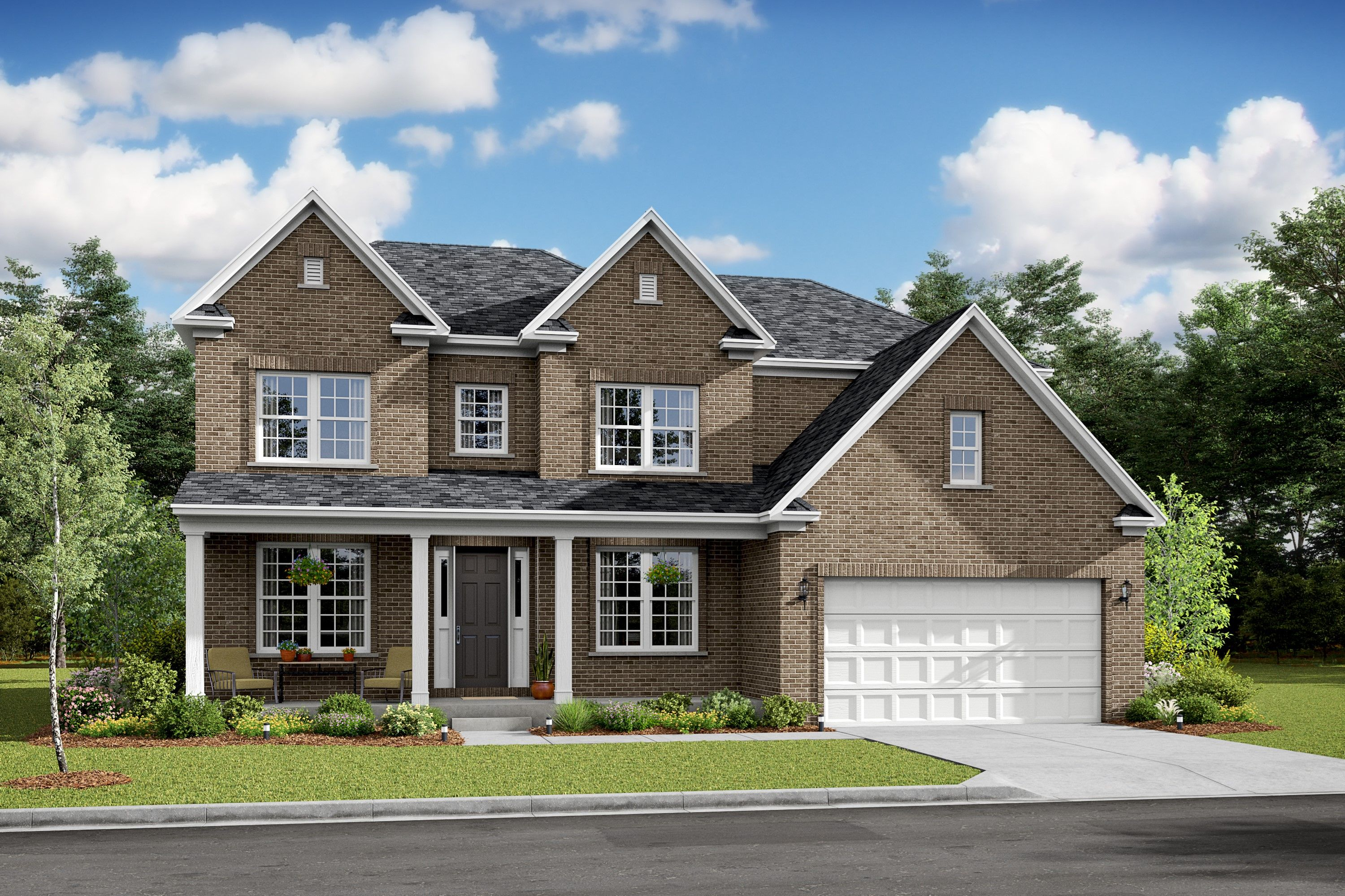 Exterior featured in the Blakely By K. Hovnanian® Homes in Washington, VA