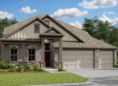 Savannah - Lakes of Champion's Estates: Mont Belvieu, Texas - K. Hovnanian® Homes