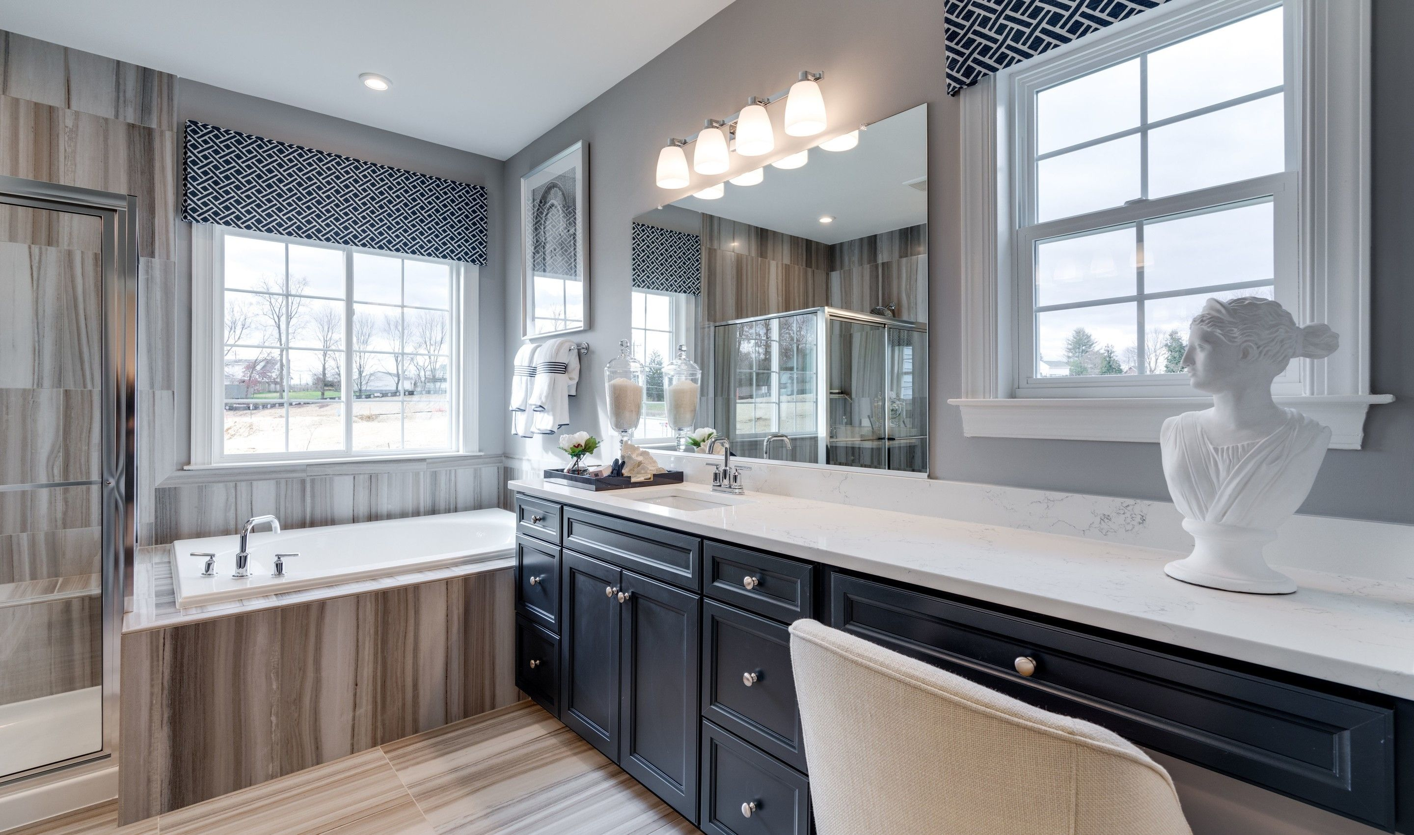 Bathroom featured in the Memphis II By K. Hovnanian® Homes in Washington, VA