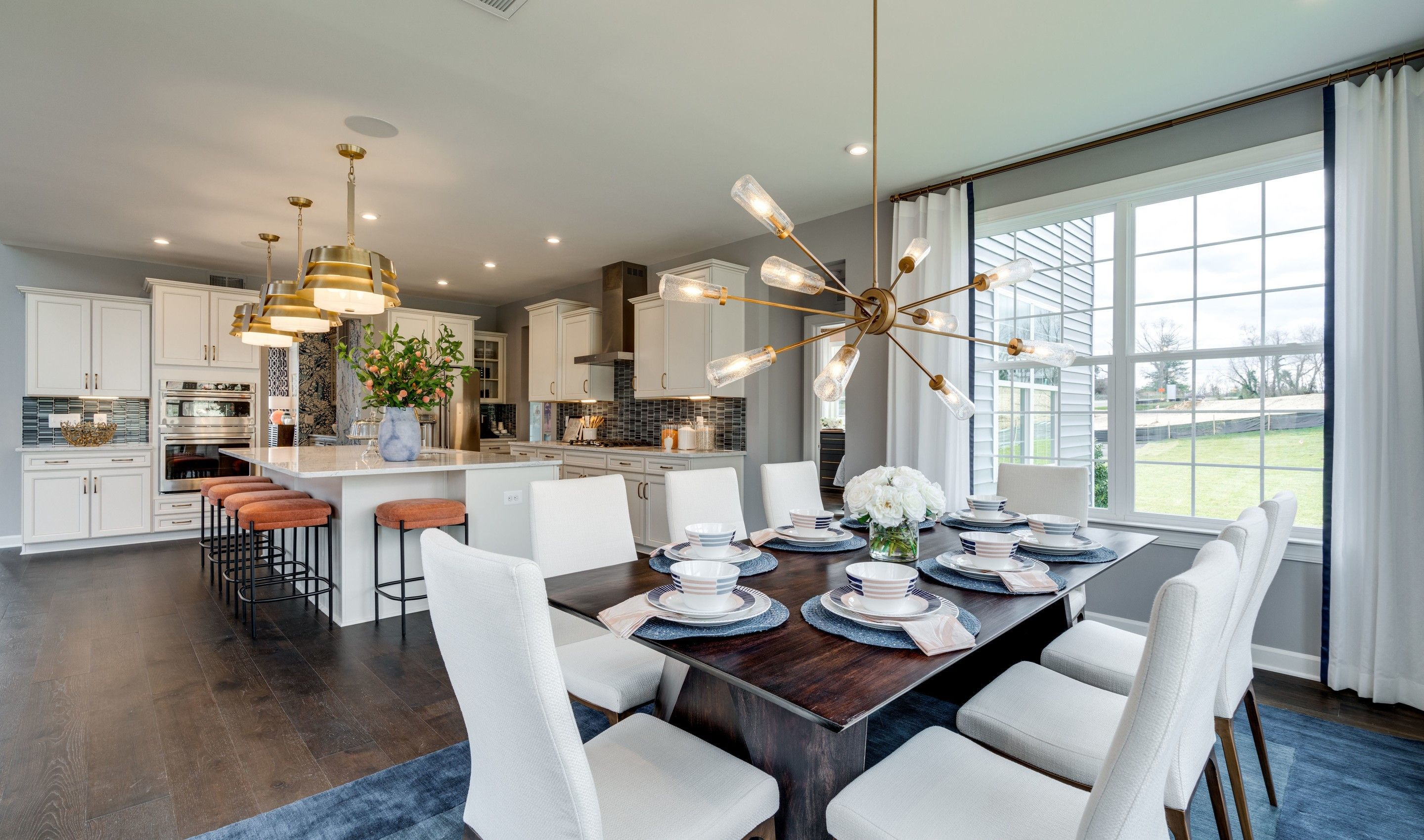 Kitchen featured in the Memphis II By K. Hovnanian® Homes in Washington, VA