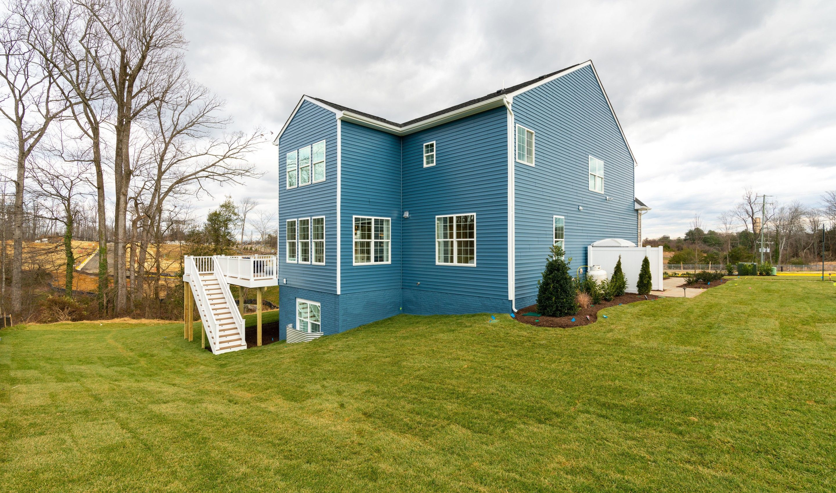 Exterior featured in the Memphis II By K. Hovnanian® Homes in Washington, VA