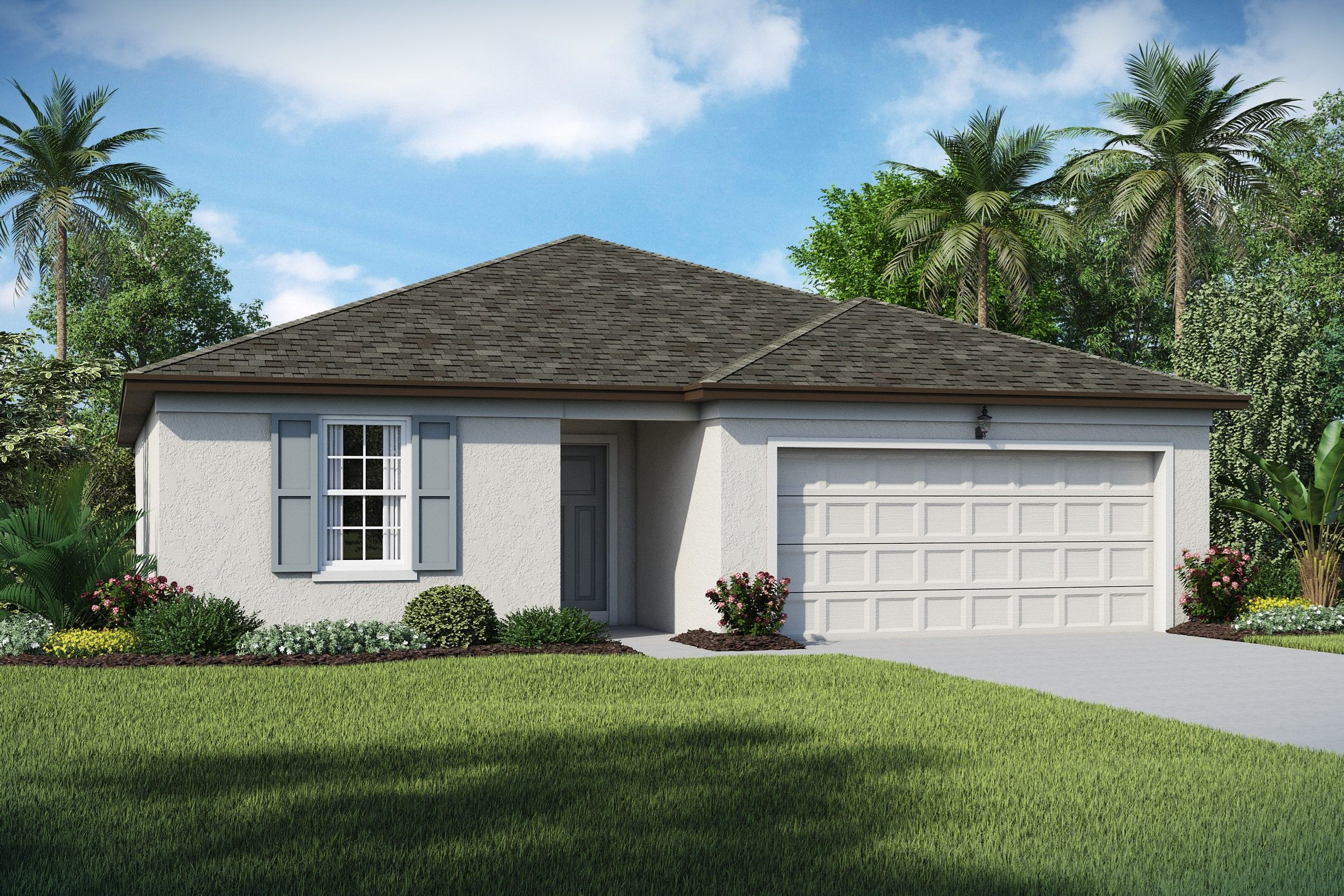 Exterior featured in the Dupont By K. Hovnanian® Homes in Martin-St. Lucie-Okeechobee Counties, FL