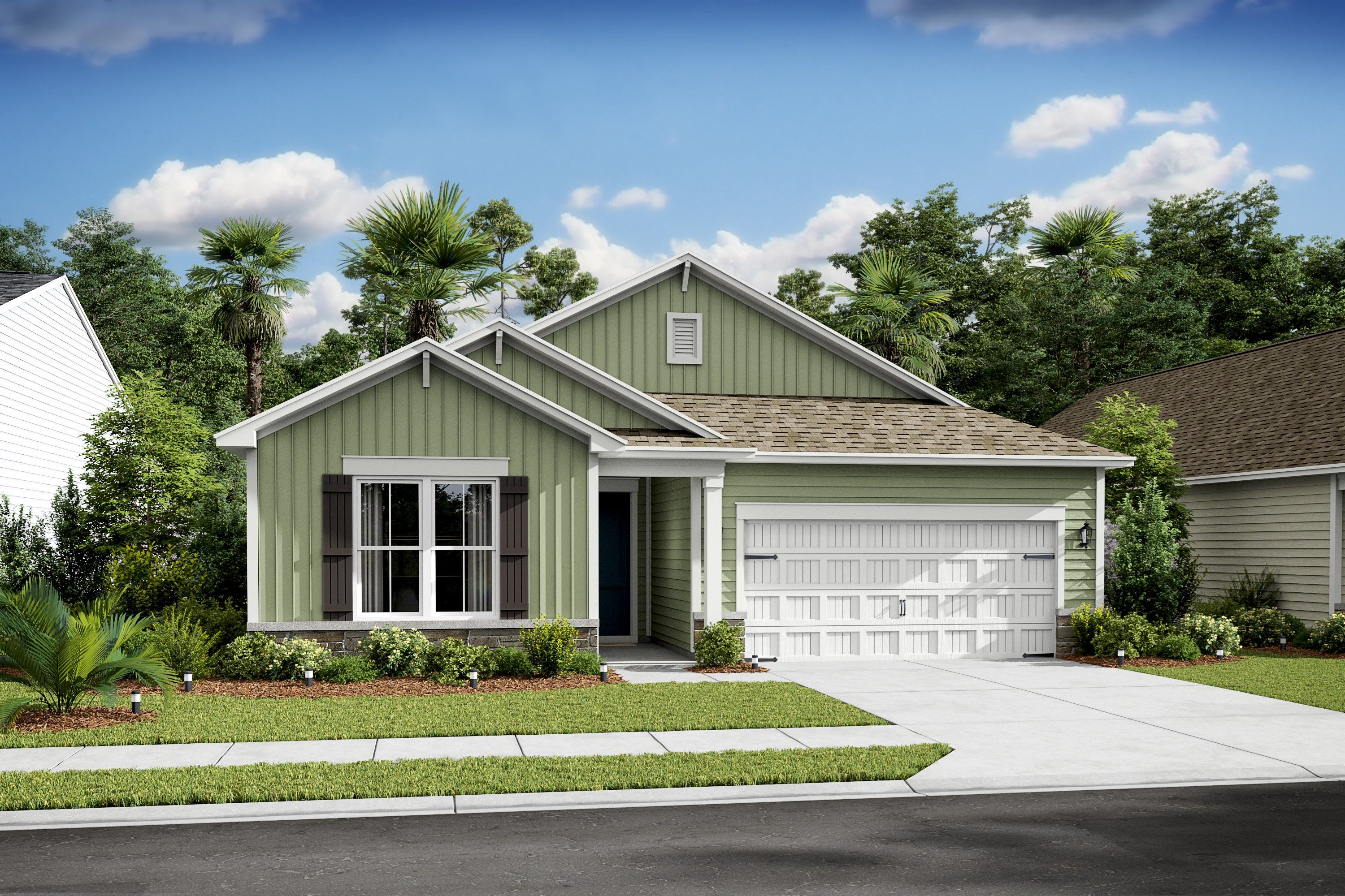 Exterior featured in the Palmera II By K. Hovnanian® Homes in Hilton Head, SC